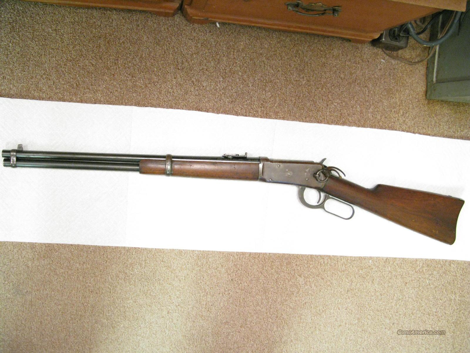 "M-1894 20"" 30-30 Saddle Ring Carbine From 1918  Guns > Rifles > Winchester Rifles - Pre-1899 Lever"