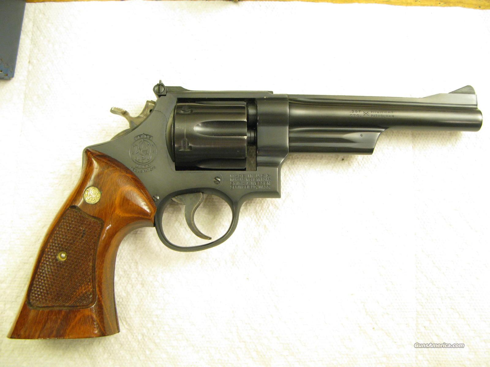 "Model 28 6"" .357 Highway Patrolman Older Model in the Box  Guns > Pistols > Smith & Wesson Revolvers > Full Frame Revolver"
