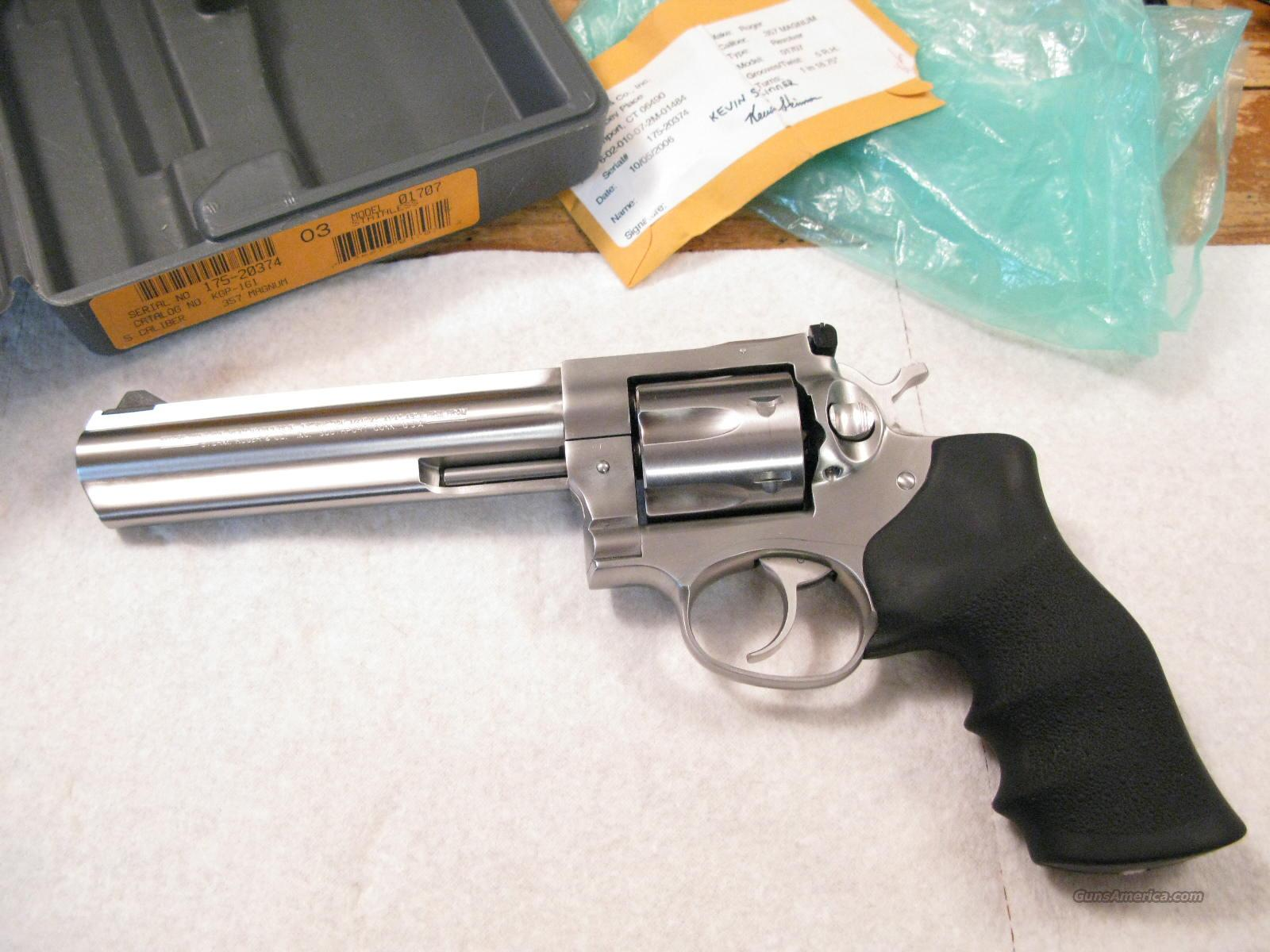 "GP-100 6"" .357 Magnum Like New in Box   Guns > Pistols > Ruger Double Action Revolver > Security Six Type"
