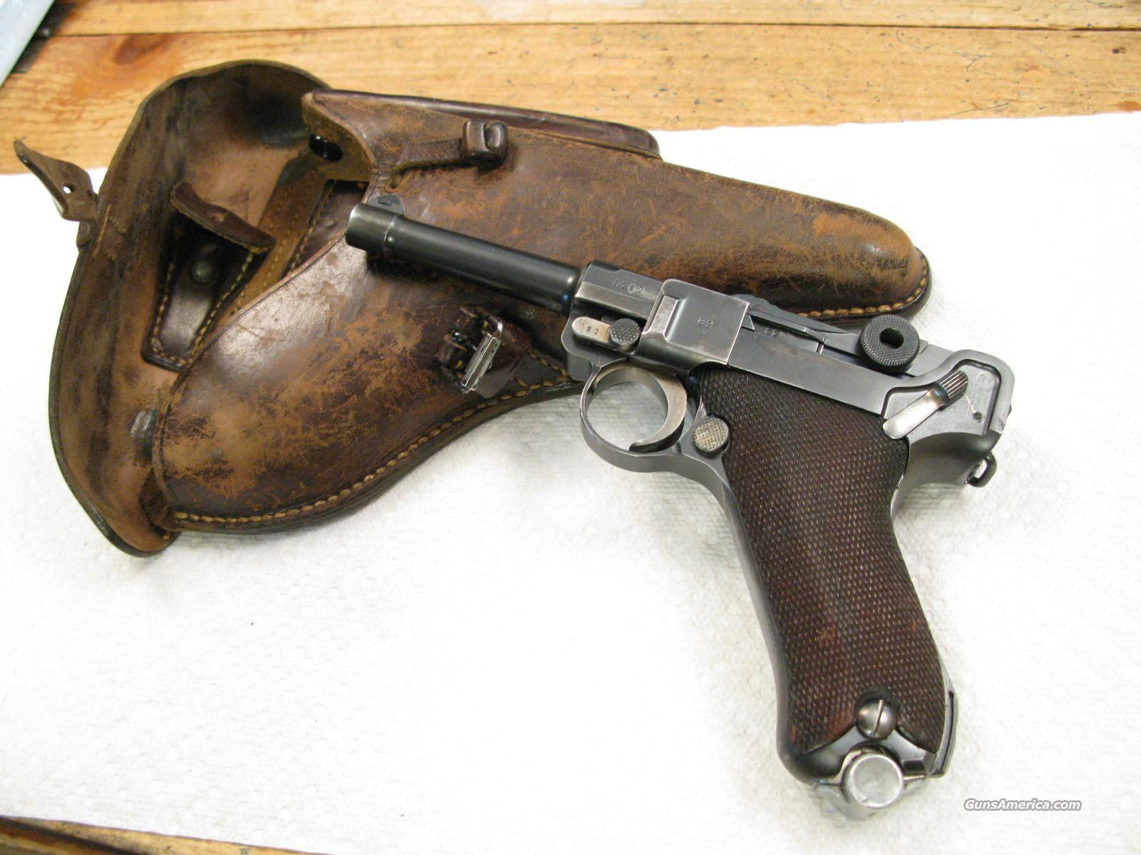 1936 S/42 9mm German Army WWII Rig,  Pistol, Holster, Tool and 2 Mags  Guns > Pistols > Luger Pistols