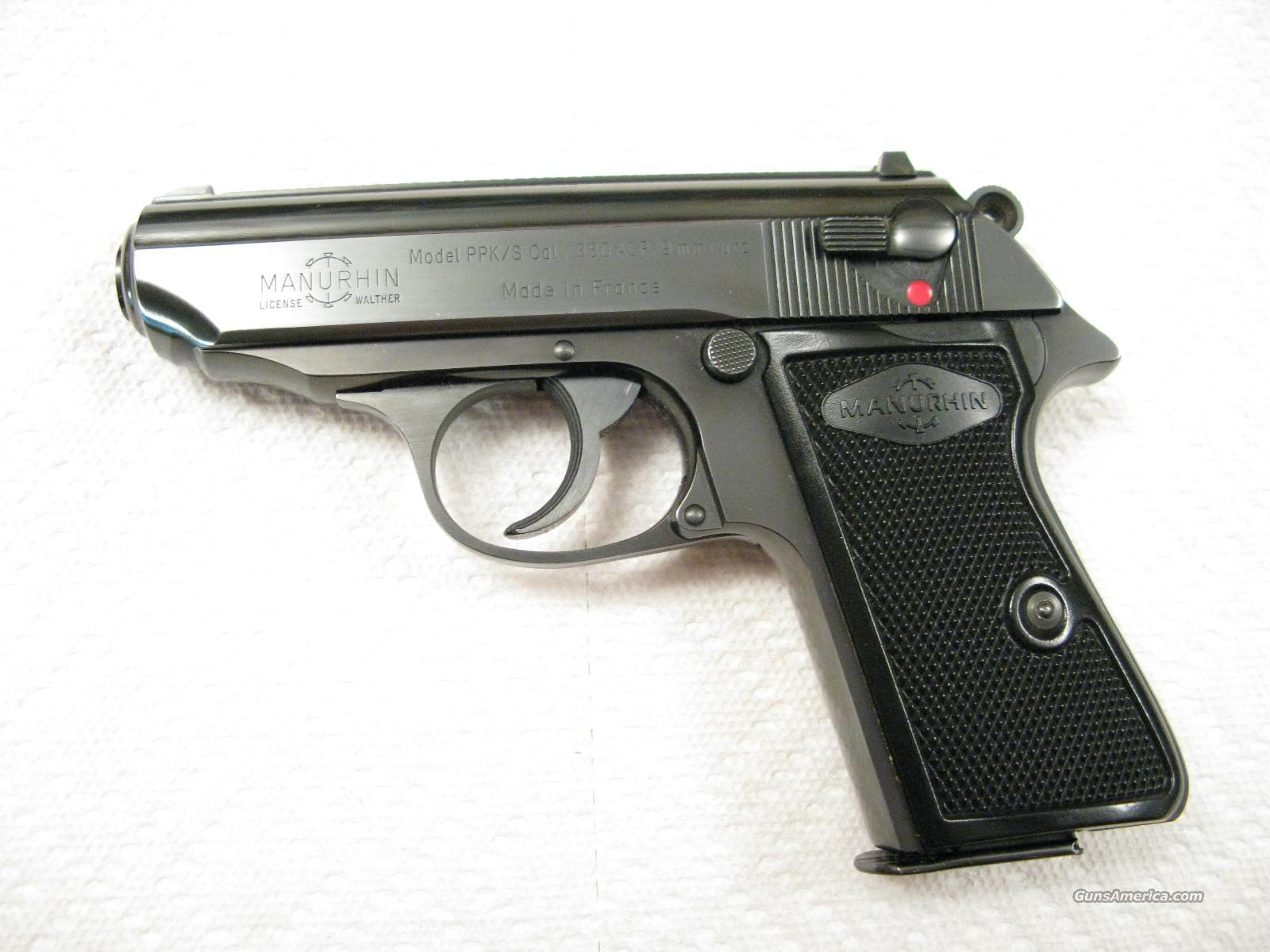 Walther PPK/S .380 ACP  Mint Condition Made in France  Guns > Pistols > Walther Pistols > Post WWII > PP Series