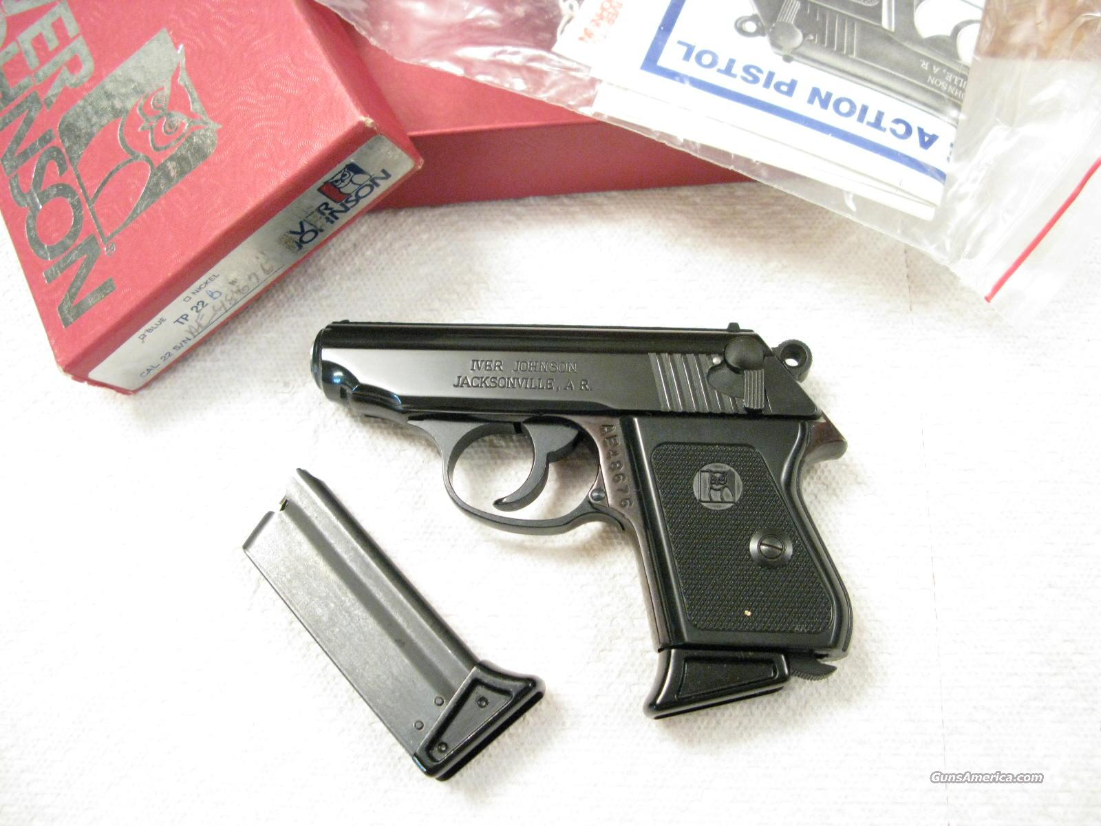 Iver Johnson TP-22 .22 Lr Like a Walther PPK  Guns > Pistols > Iver Johnson Pistols