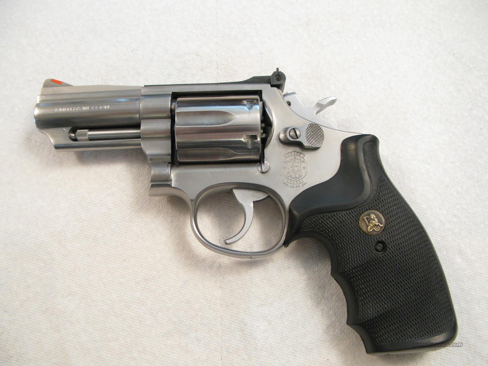 "M-66 3"" .357 Magnum Red Ramp Scarce Gun  Guns > Pistols > Smith & Wesson Revolvers > Full Frame Revolver"