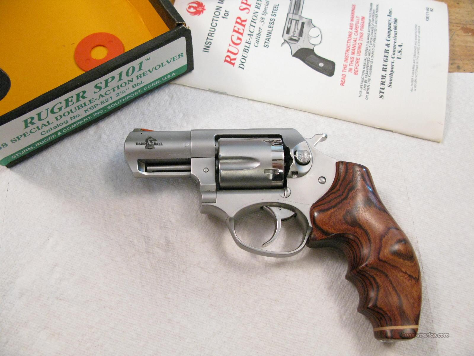 "SP101 2"" . 38 Special Custom Snubbie  Guns > Pistols > Ruger Double Action Revolver > SP101 Type"