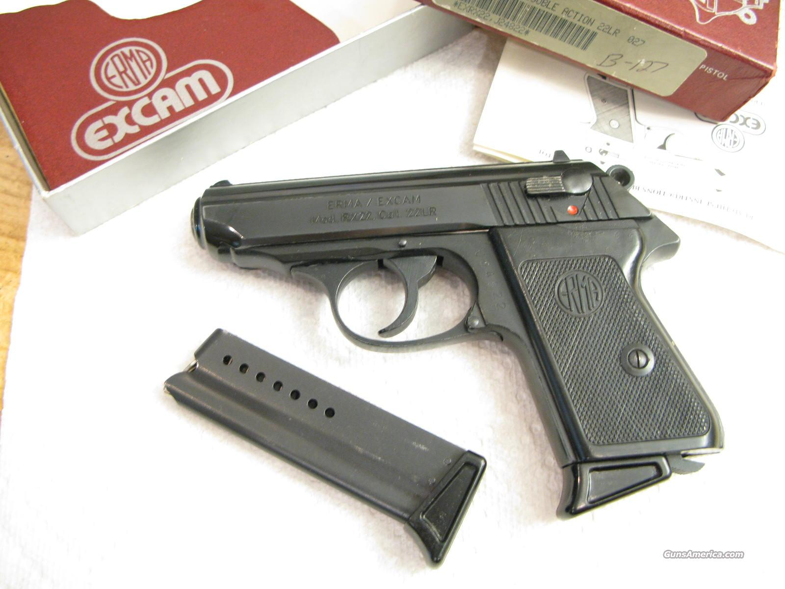 Erma RX-22 .22 LR Like PPK in Box 2 Clips  Guns > Pistols > Walther Pistols > Post WWII > PP Series
