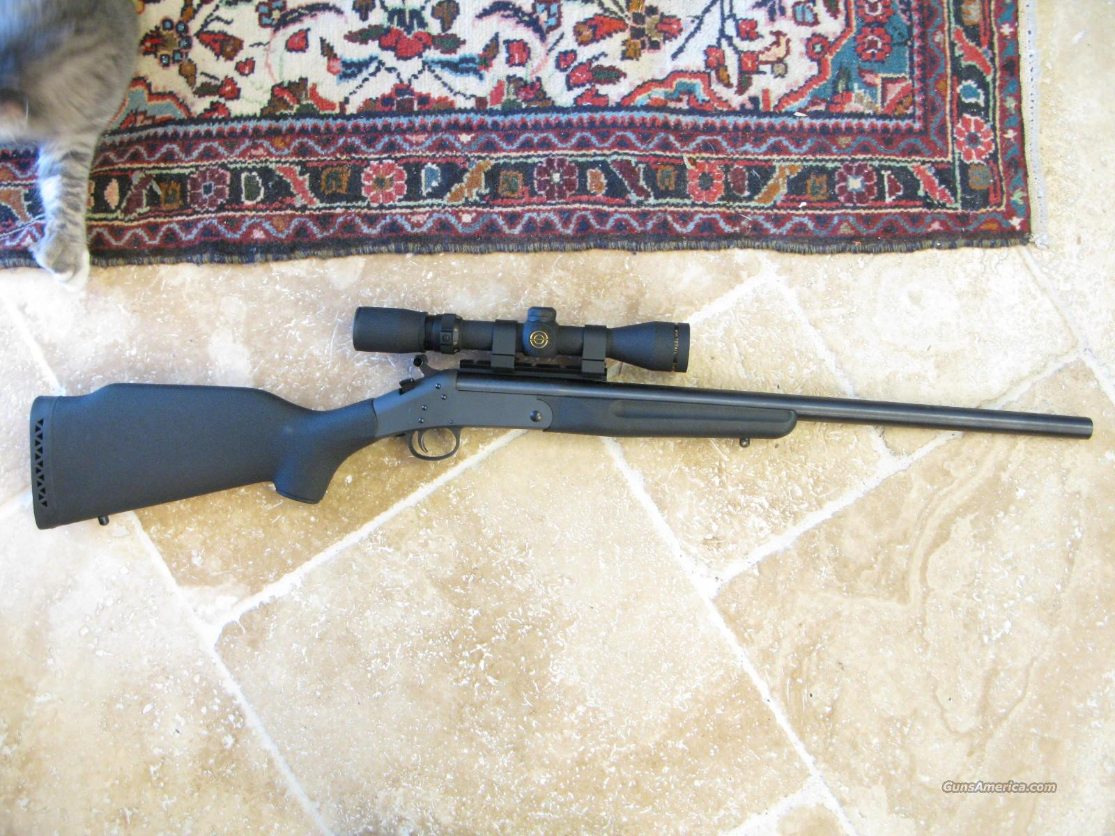 "Sportster .17 HMR 22"" Single Shot Rifle with Scope   Guns > Rifles > New England Firearms (NEF) Rifles"
