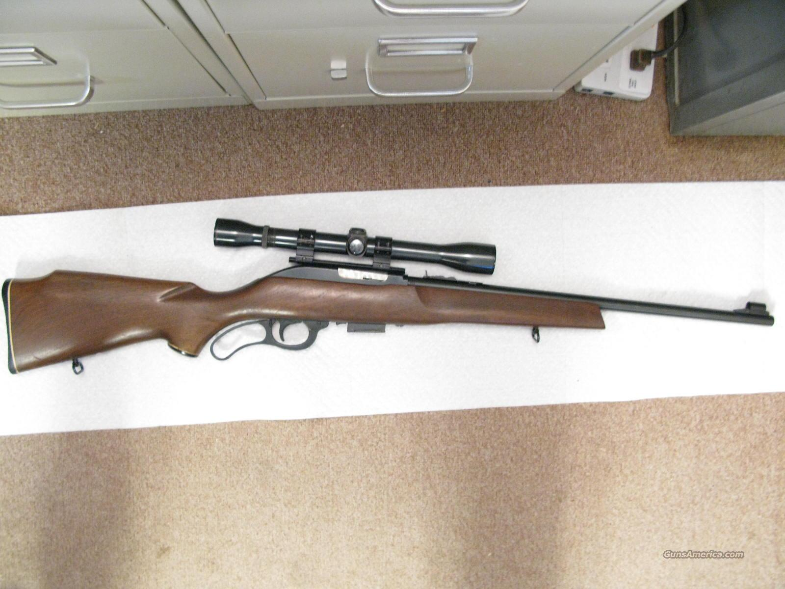 M-62 Lever Action .30  U.S. Carbine Caliber With Weaver K-6  Guns > Rifles > Marlin Rifles > Modern > Lever Action