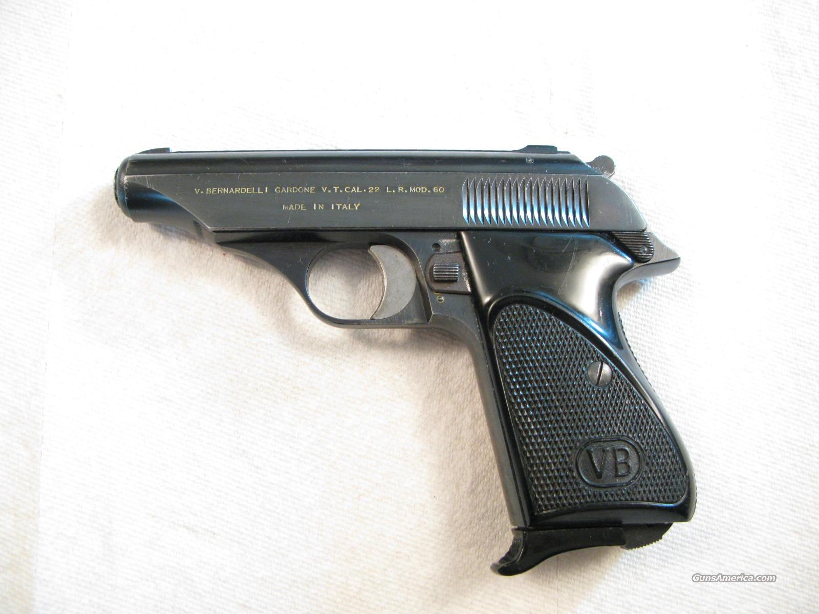 Walther PP .22 Lr Look alike by Bernardelli Model 60 Made in  Italy  Guns > Pistols > Walther Pistols > Post WWII > PP Series