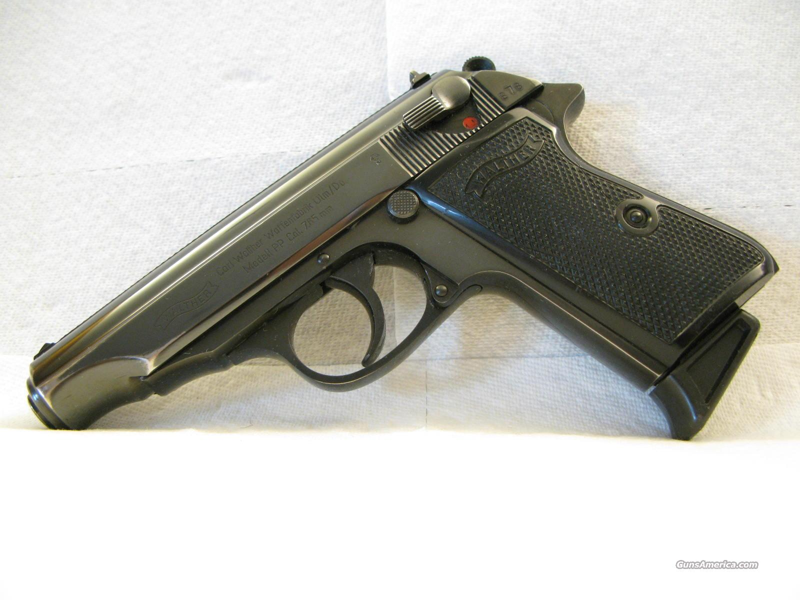 Walther PP .32 ACP Matching German from 1964  Guns > Pistols > Walther Pistols > Post WWII > PPK Series