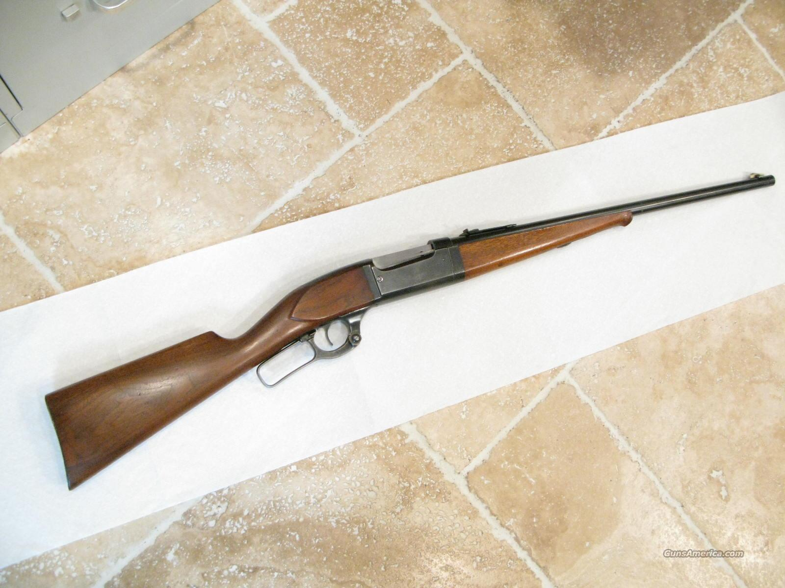 "Savage Model 1899 .303 Savage Take-Down Short Rifle ""Saddle Gun""  Guns > Rifles > Savage Rifles > Model 95/99 Family"