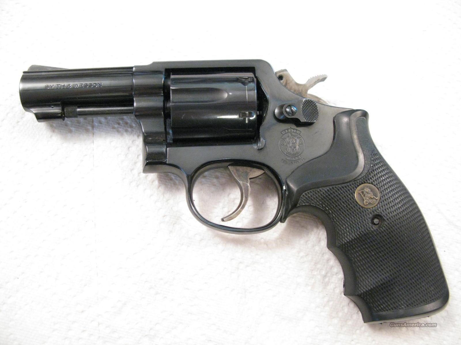 "M-13 3"" .357 Magnum Military and Police Heavy Barrel Round Butt  Guns > Pistols > Smith & Wesson Revolvers > Full Frame Revolver"