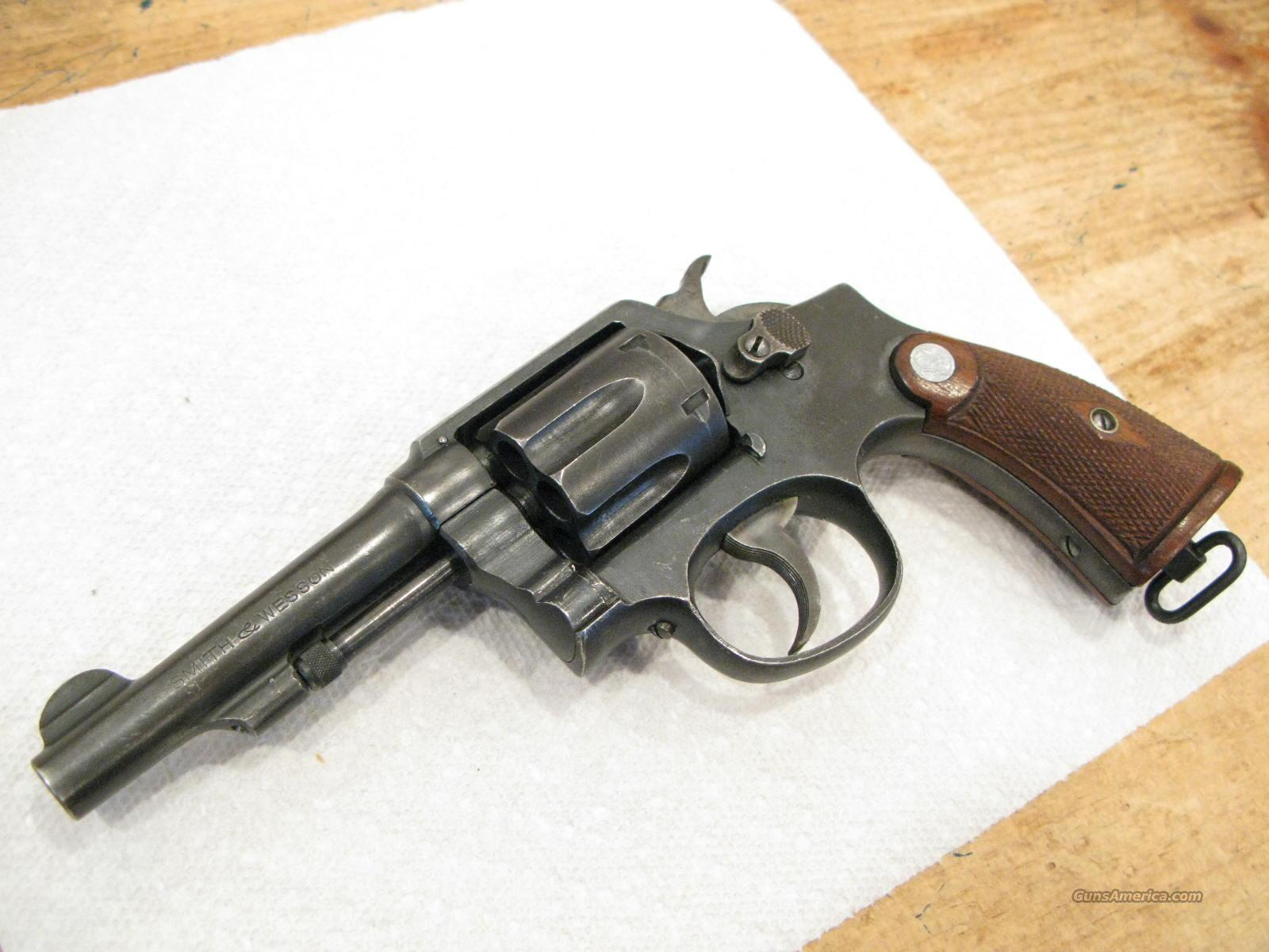 "S&W Victory Model 4"" .38 Special U.S. Military Marked Matching  Guns > Pistols > Military Misc. Pistols US > Other"