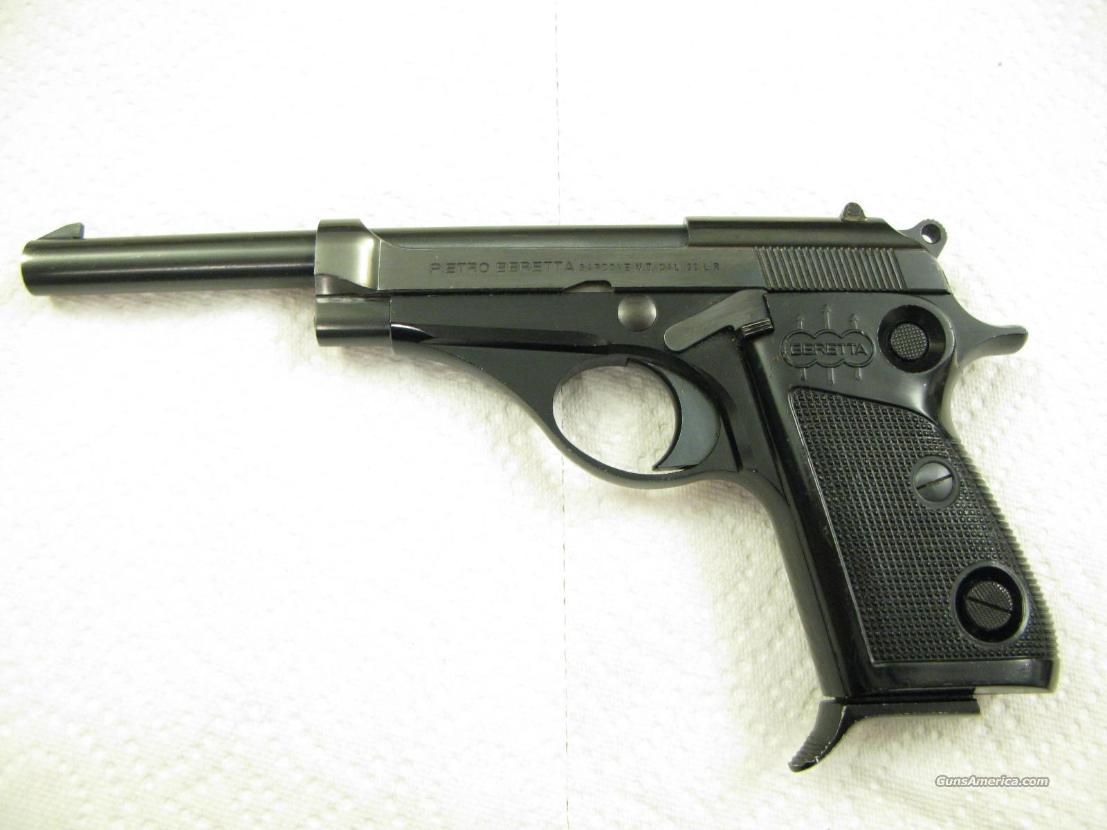 "Model 72 Jaguar 6"" .22 LR Semi-Auto like 70-S,  M-101, Puma, Couger  Guns > Pistols > Beretta Pistols > Rare & Collectible"
