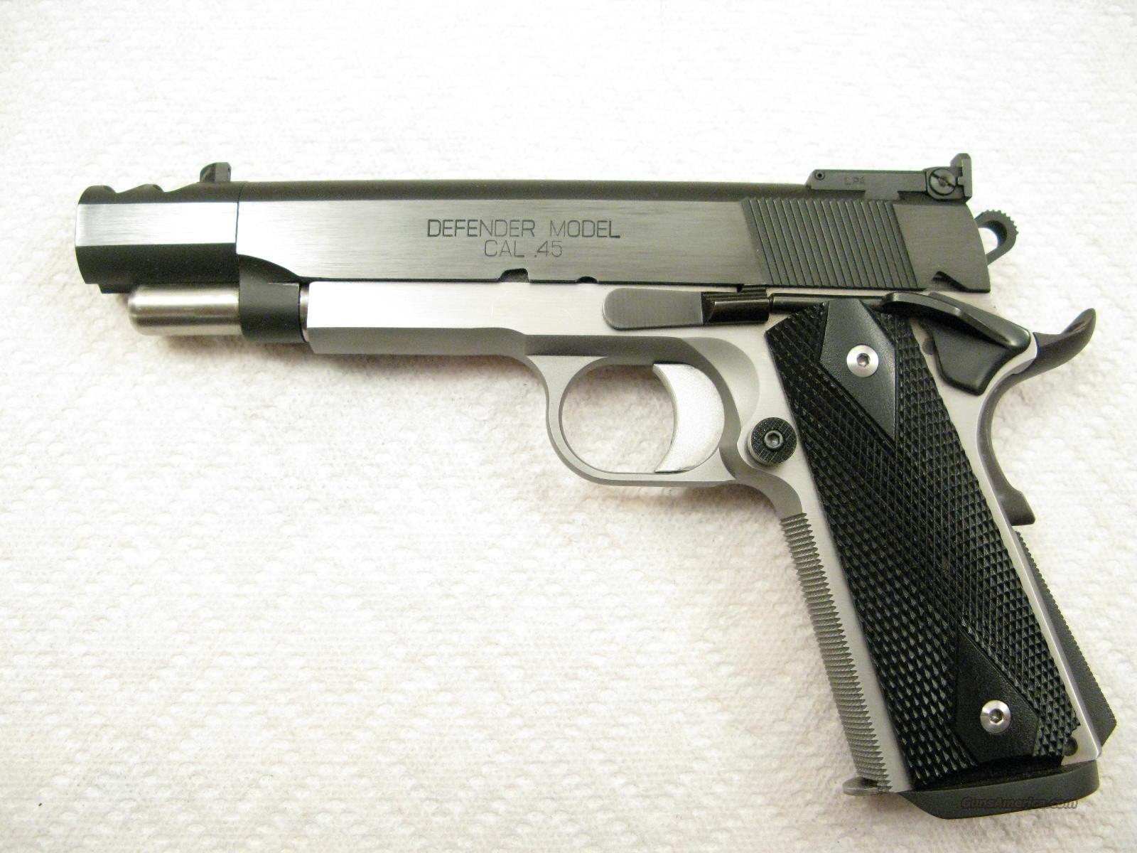 PDP Defender .45 ACP Full Race Tactical Pistol Like New  Guns > Pistols > Springfield Armory Pistols > 1911 Type