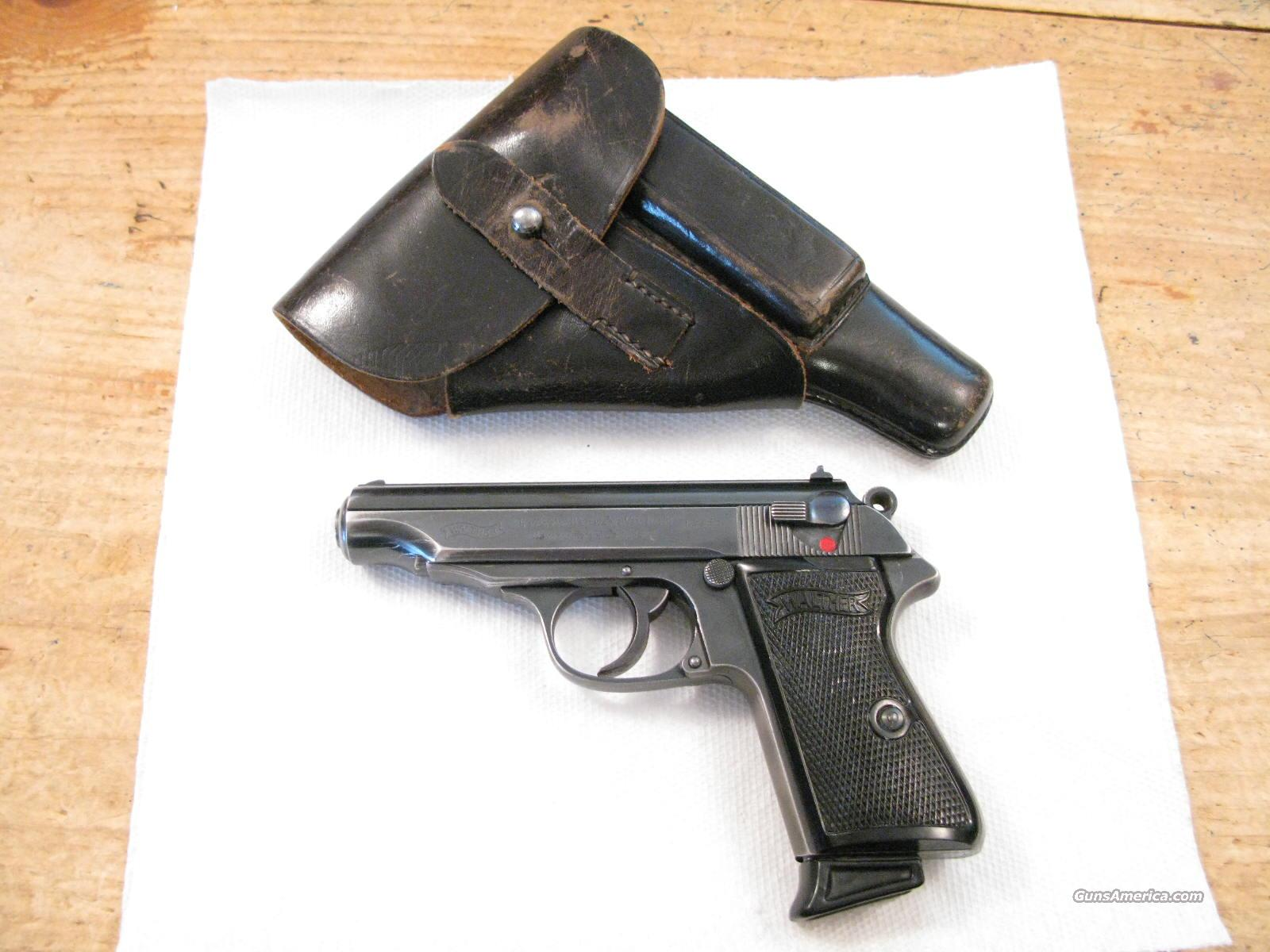 Walther PP 7.65mm Pre-WWII Rig with Holster & 2 Magazines  Guns > Pistols > Walther Pistols > Pre-1945 > PP