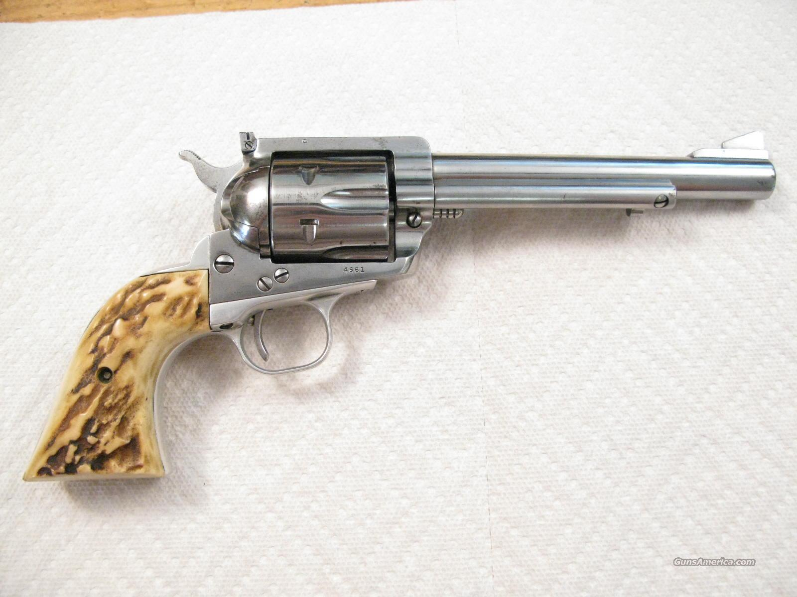 "Blackhawk Flat Top  6 1/2"" .44 Magnum Old Model From 1957  Guns > Pistols > Ruger Single Action Revolvers > Blackhawk Type"