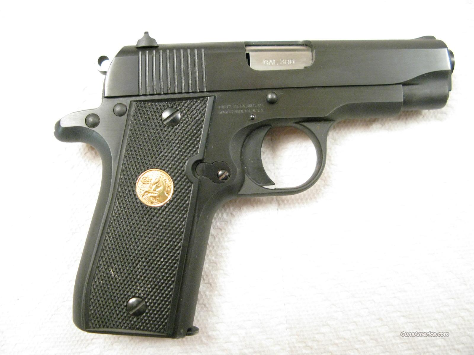 Government .380 ACP MKIV /Series 80 Like New  Guns > Pistols > Colt Automatic Pistols (.25, .32, & .380 cal)