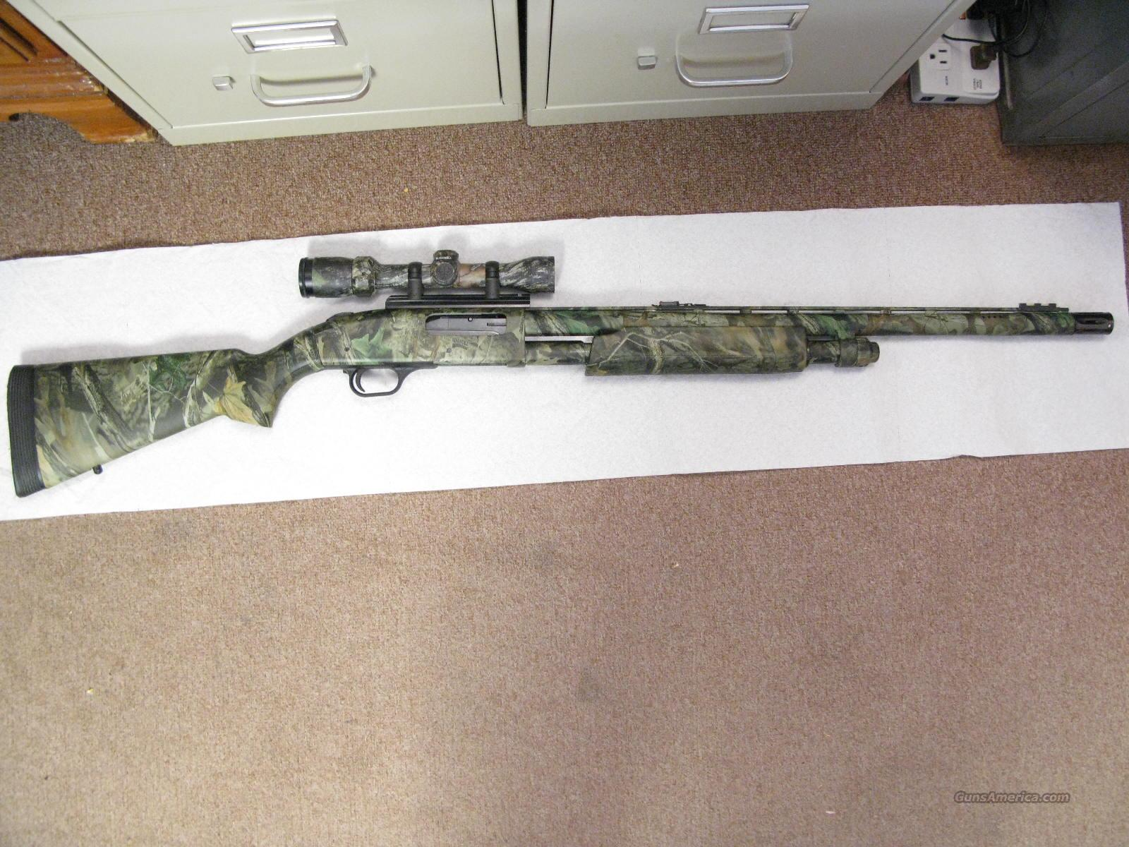 "M-835 Ultra Mag 12 ga. 2 3/4"" to 3 1/2"" Magnum Camo And Scope  Guns > Shotguns > Mossberg Shotguns > Pump > Sporting"