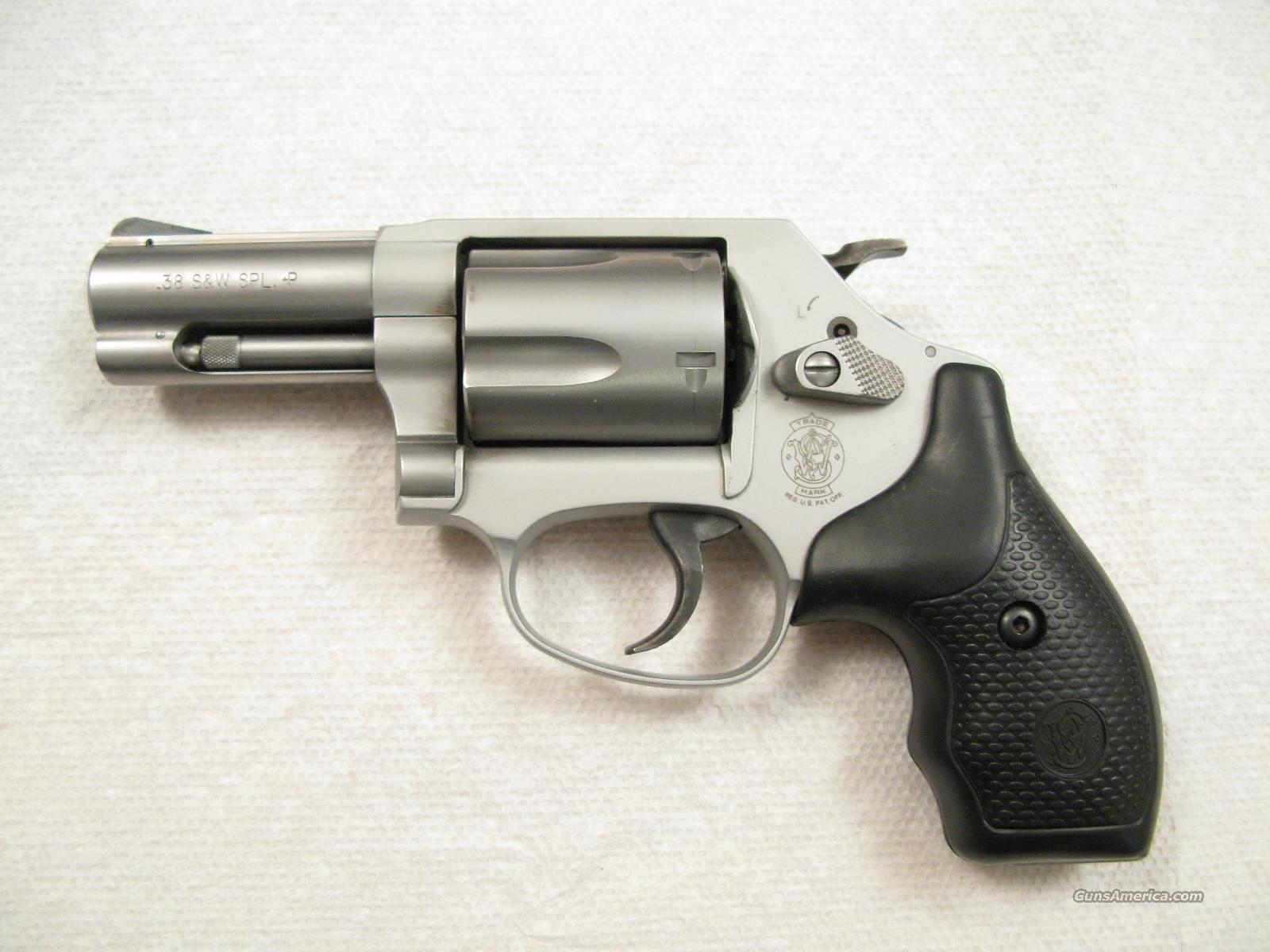 "M-637 2 1/2"" .38 Special +P Chief's Special Stainless Airweight  Guns > Pistols > Smith & Wesson Revolvers > Full Frame Revolver"