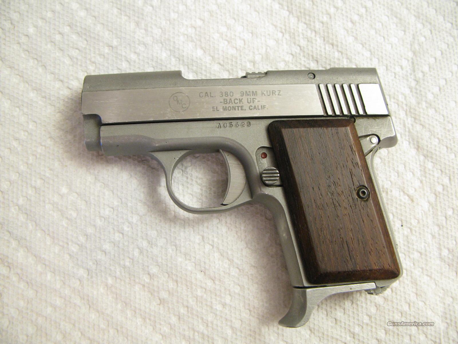 OMC Back Up .380 ACP Semi-Auto Stainless Steel Early AMT Variation   Guns > Pistols > AMT Pistols > Other