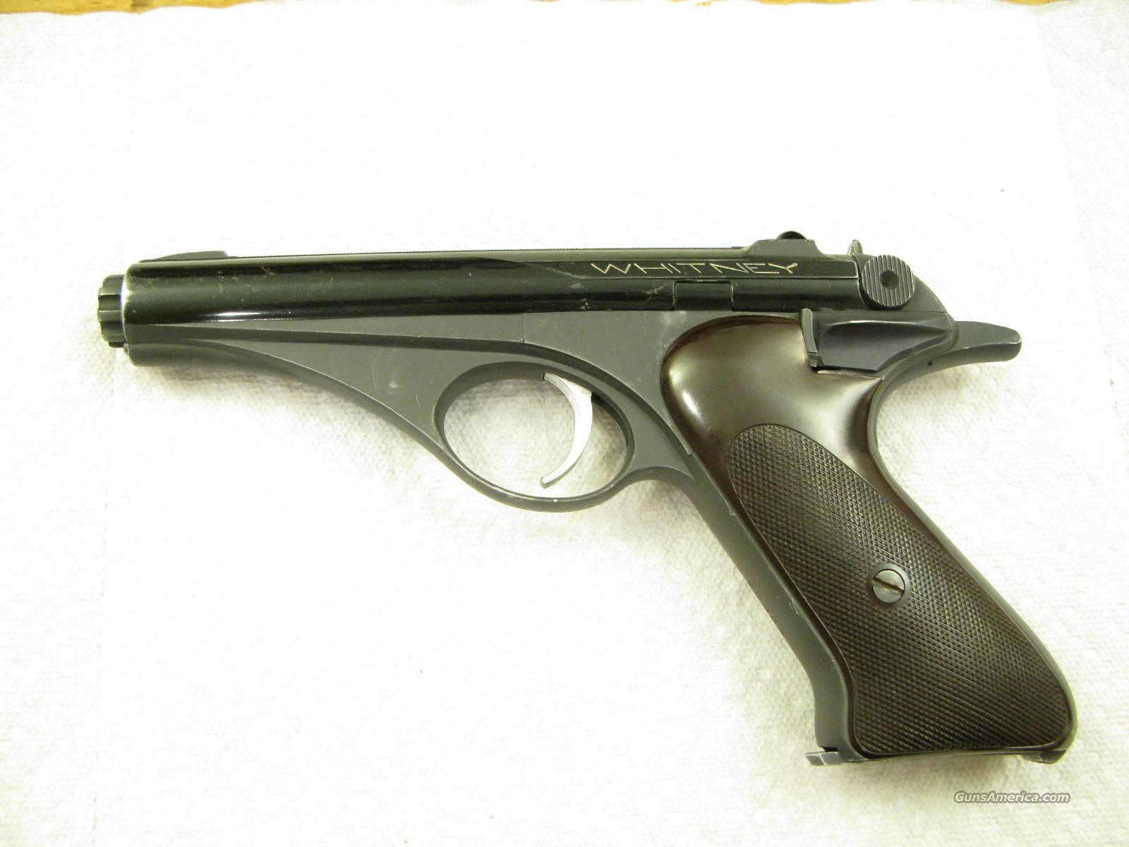 Whitney Wolverine .22 LR Semi-auto From the 1950's  Guns > Pistols > Whitney Arms Pistols