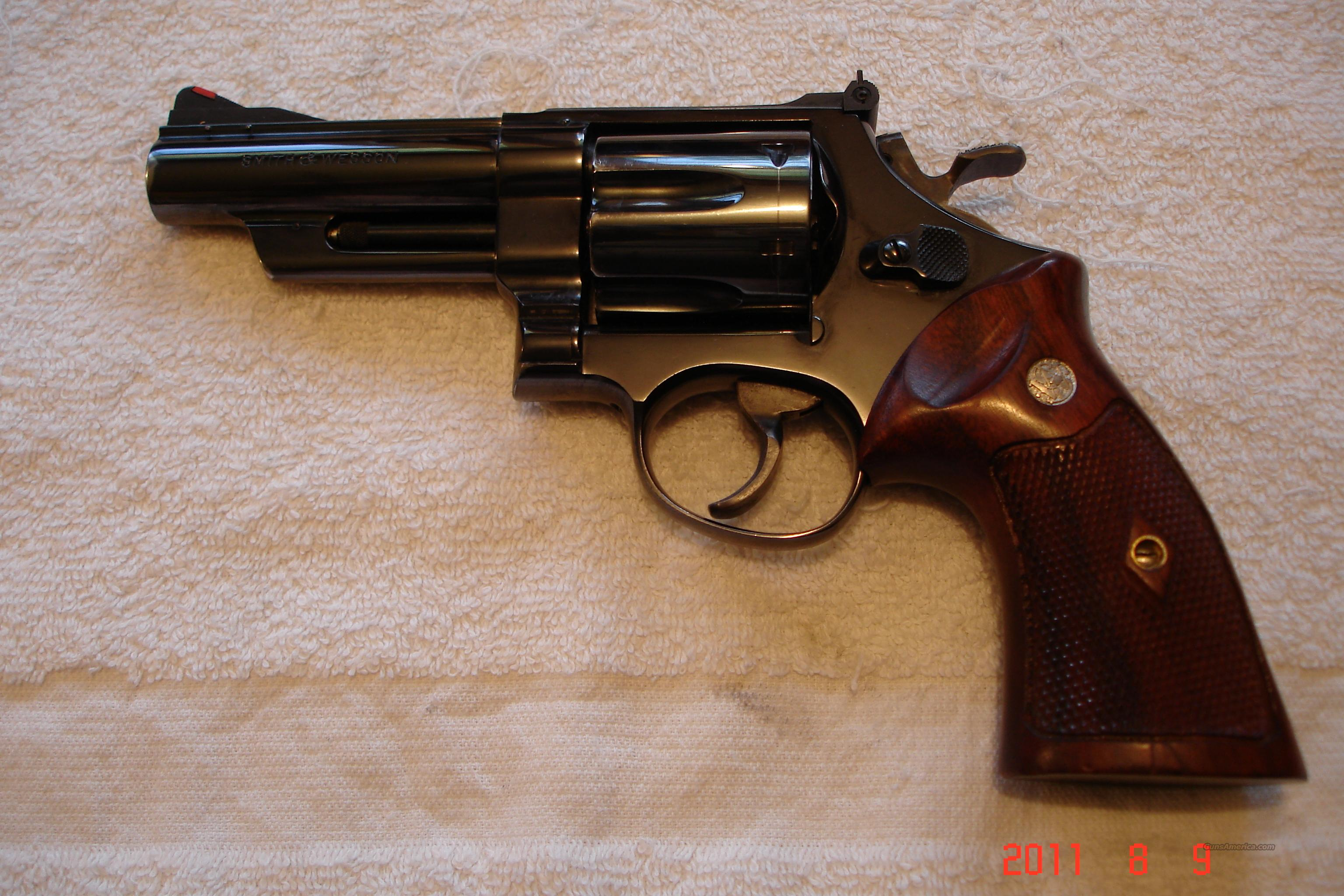 "S&W Pre 29 4-screw 4"" Cokes MFG 1958  Guns > Pistols > Smith & Wesson Revolvers > Full Frame Revolver"