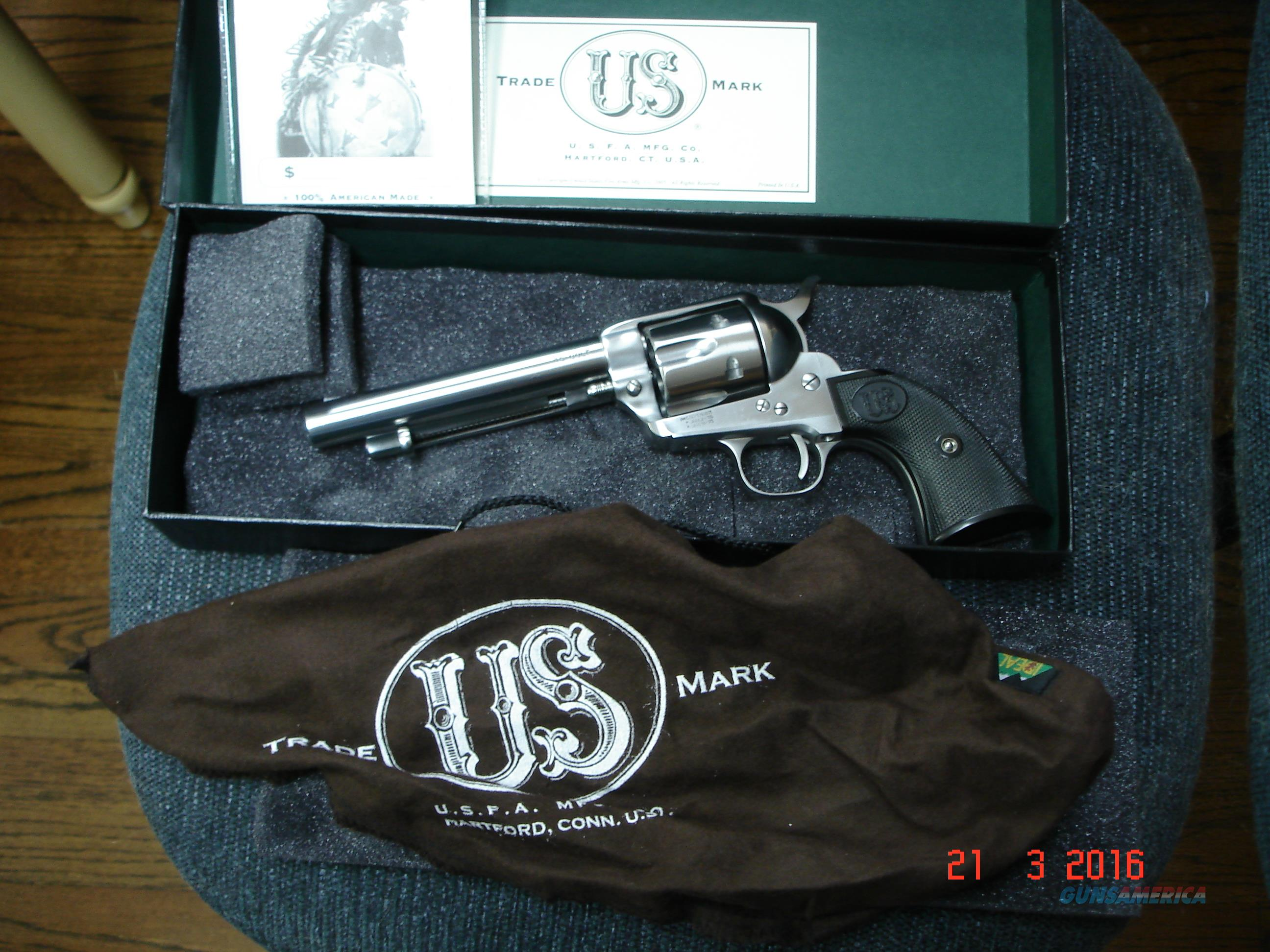 "USFA China Camp .45Cal. SA 5 1/2""BBl. MIB  Revolver  Hard to Find  Guns > Pistols > USFA Pistols"