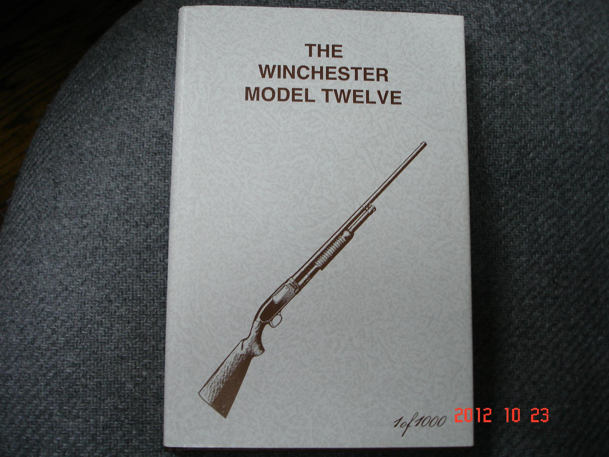 The Winchester mod.12 By  G. Madis  Non-Guns > Books & Magazines