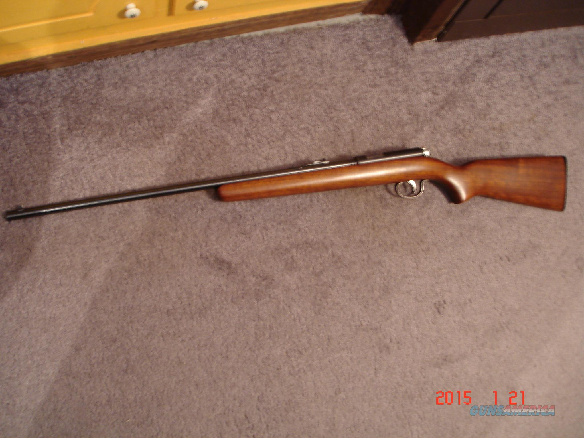 Remington model 514 Bolt act. single shot Excellent  Guns > Rifles > Remington Rifles - Modern > .22 Rimfire Models