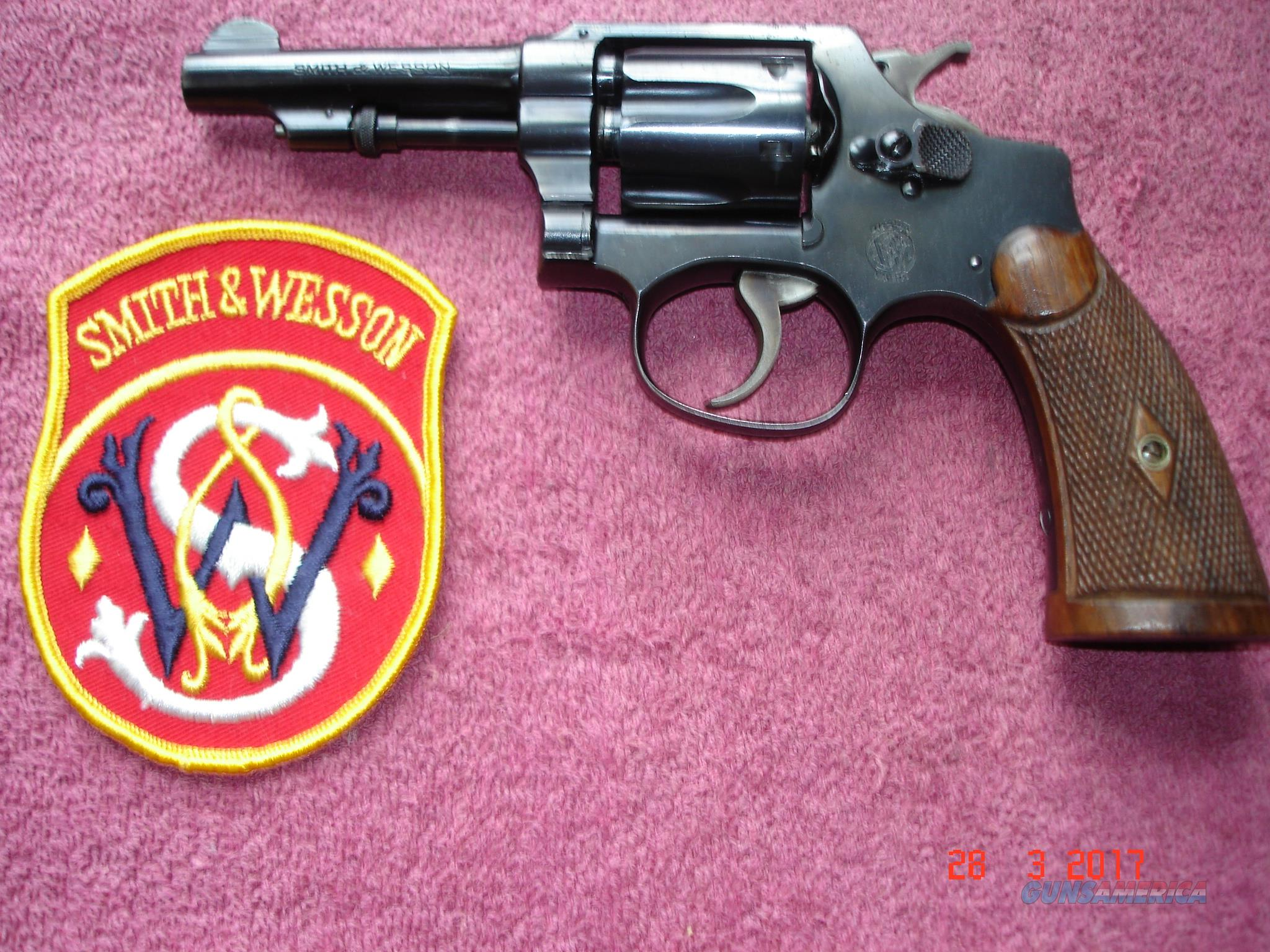"S&W Pre-War Regulation Police I frame Rev. .32S&W Long 3 1/4""BBl. Excellent  Guns > Pistols > Smith & Wesson Revolvers > Full Frame Revolver"