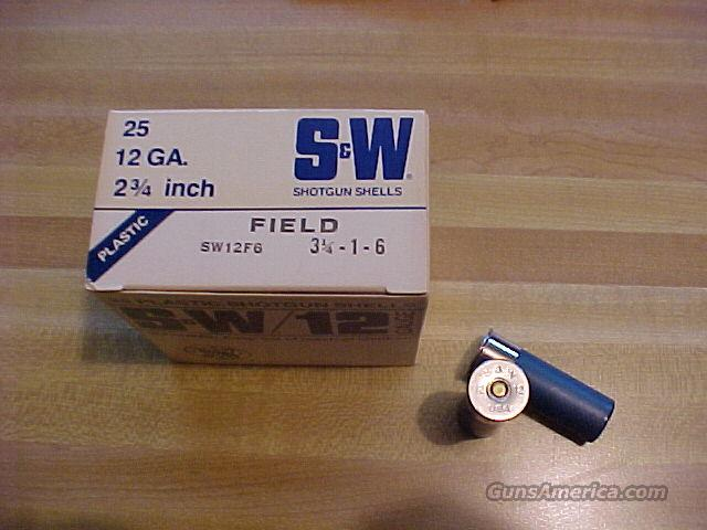 Vintage Smith & Wesson Shotshells Full Box  Non-Guns > Ammunition