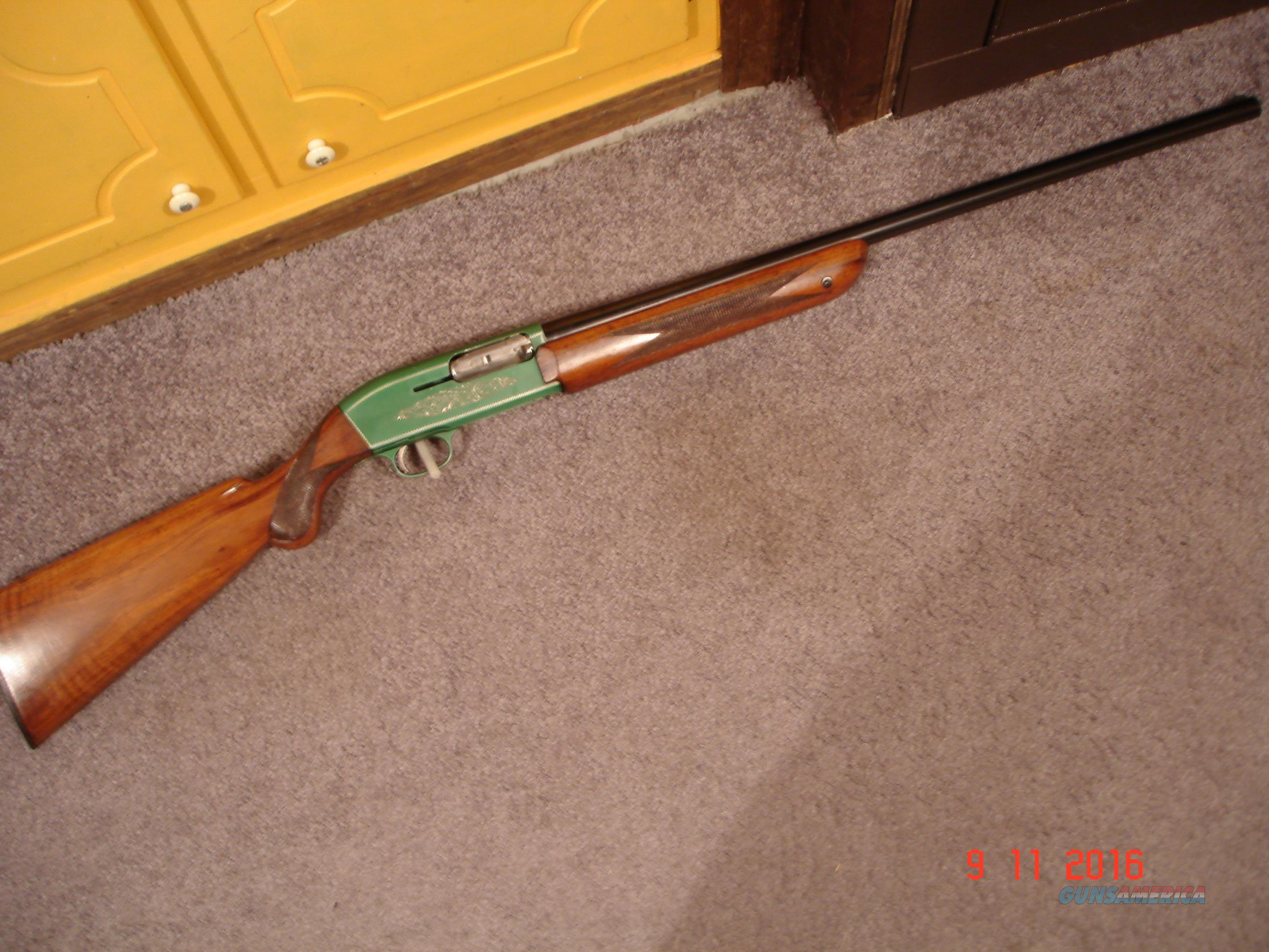 "Rare Forest Green Browning Double Auto MFG 1958 Excellent 28""BBl.  Guns > Shotguns > Browning Shotguns > Autoloaders > Hunting"