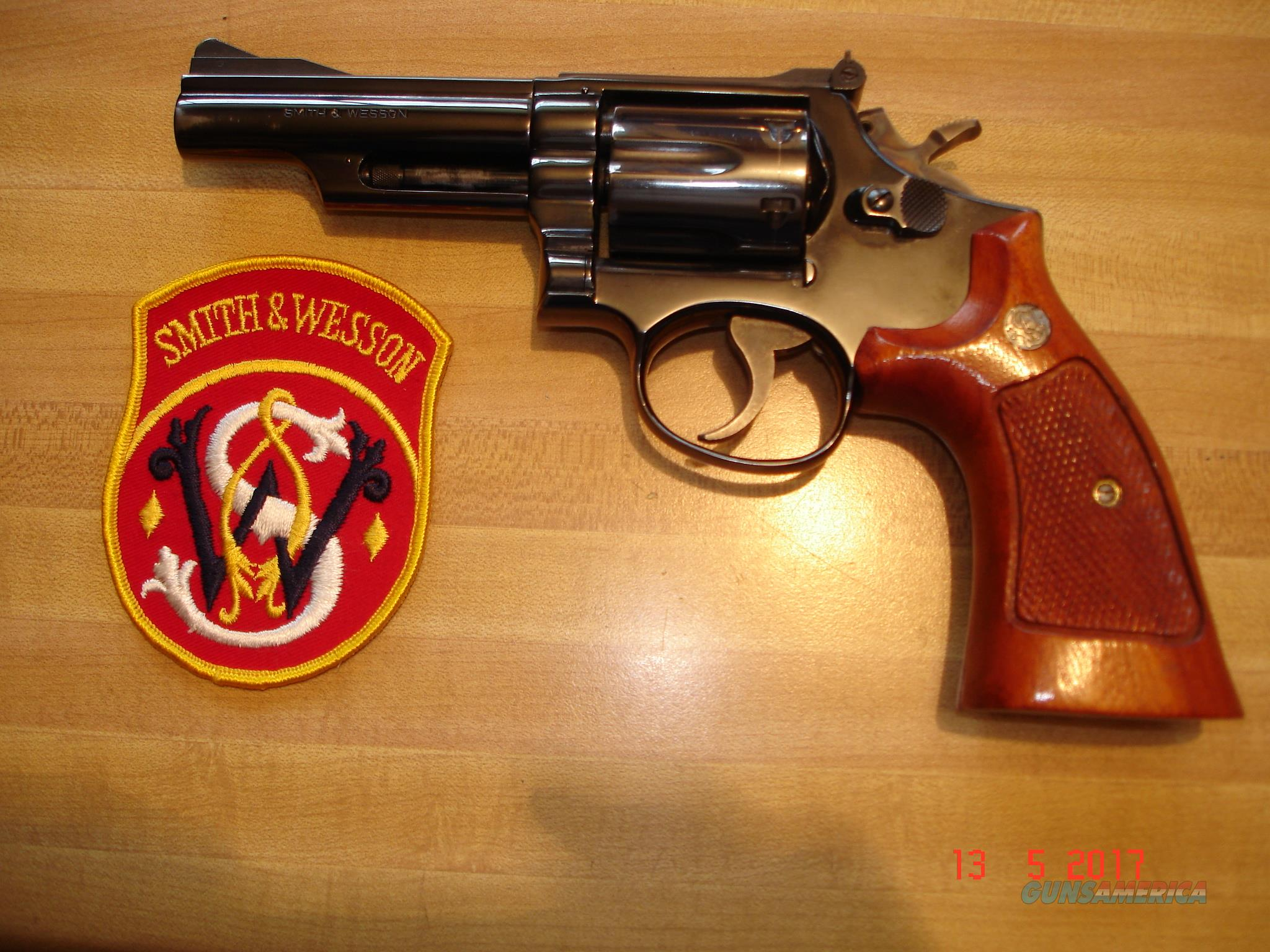 "S&W Model 19-3  .357 Combat Magnum  4""BBl. Blue MFG 1972  Excellent  Guns > Pistols > Smith & Wesson Revolvers > Full Frame Revolver"