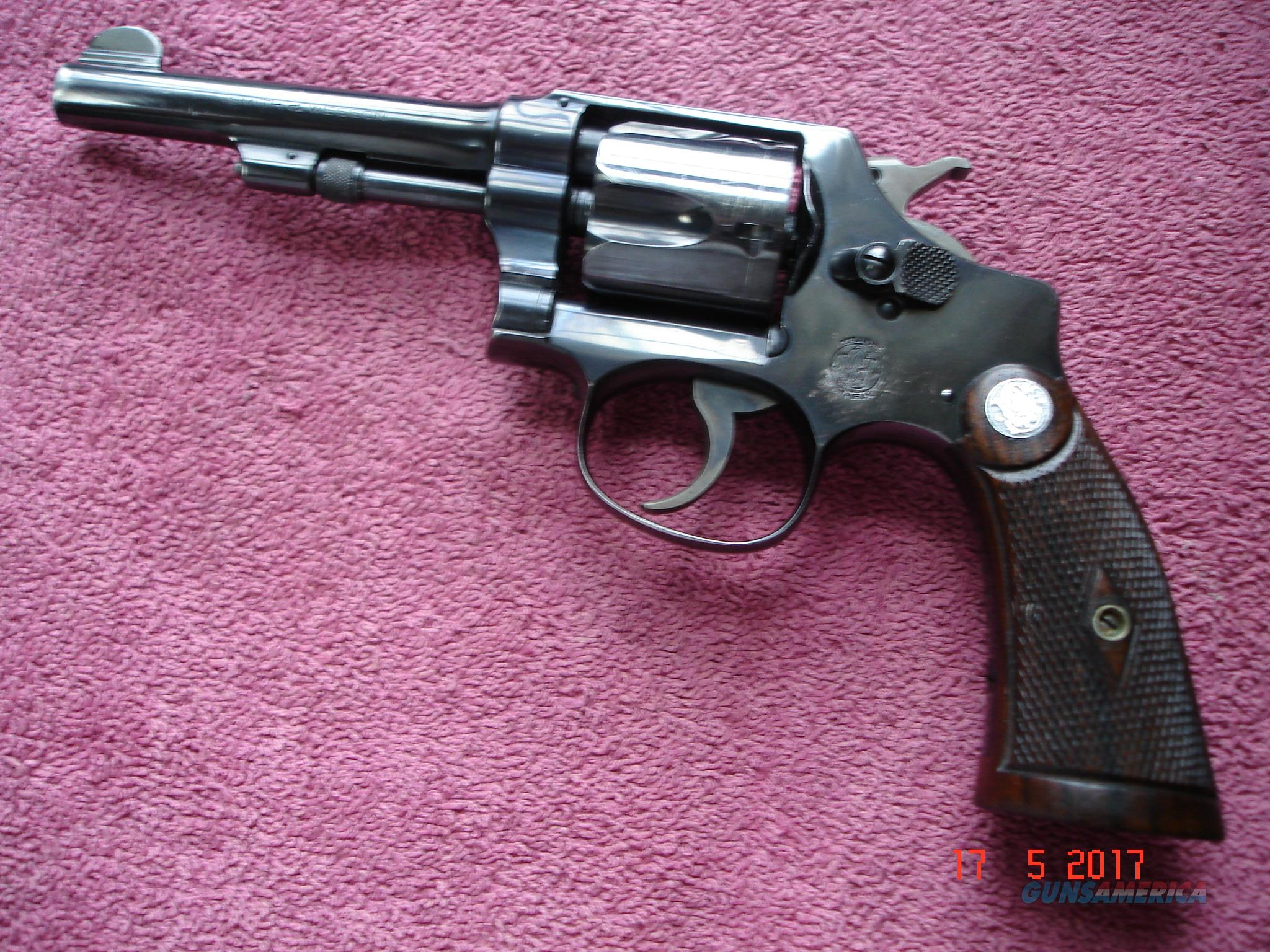 Smith & Wesson Pre-War I Frame Regulation Police .38S&W Excellent 5-Screw MFG 1936  Guns > Pistols > Smith & Wesson Revolvers > Pre-1945