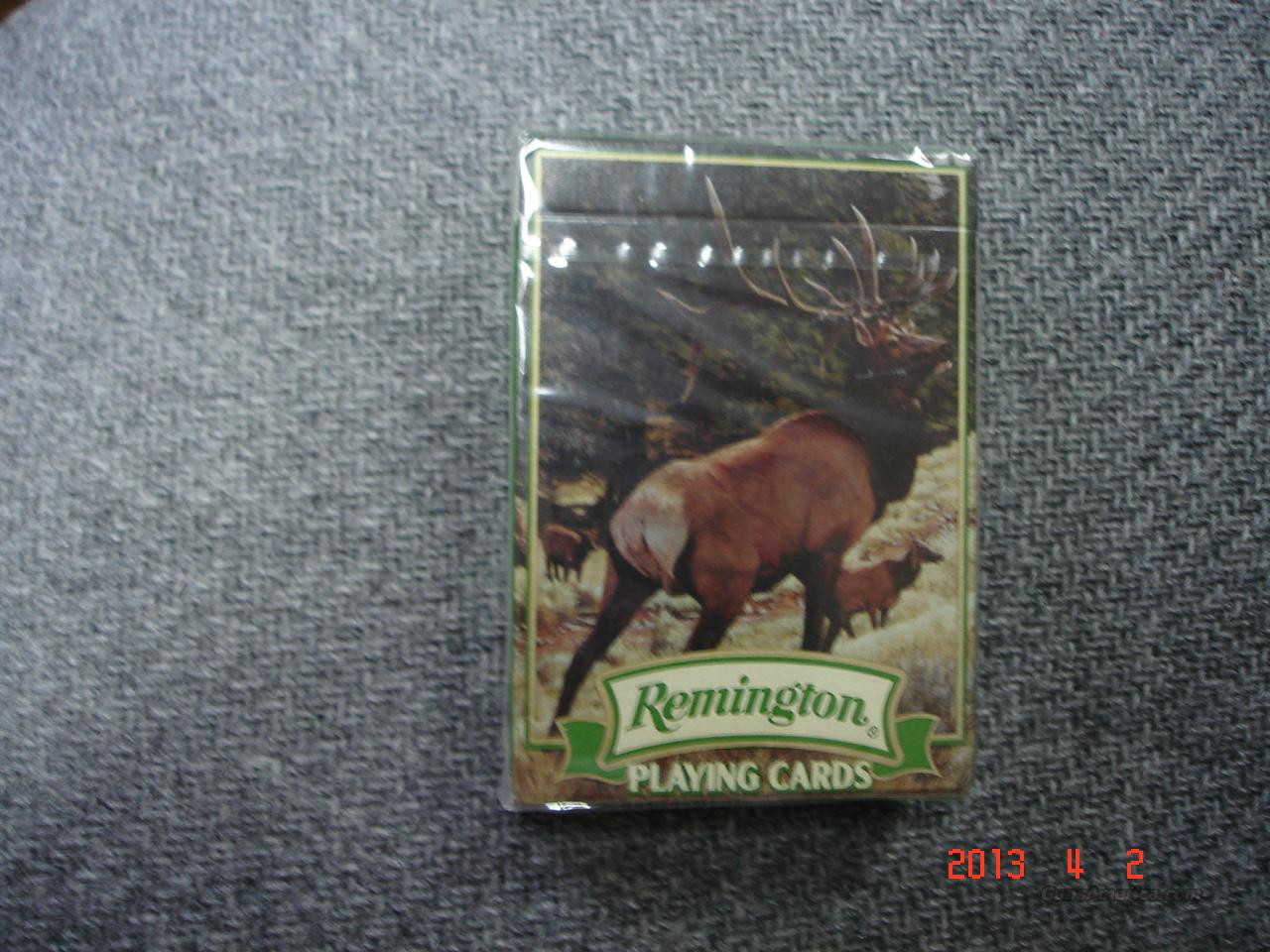 Remington Playing cards  Non-Guns > Logo & Clothing Merchandise