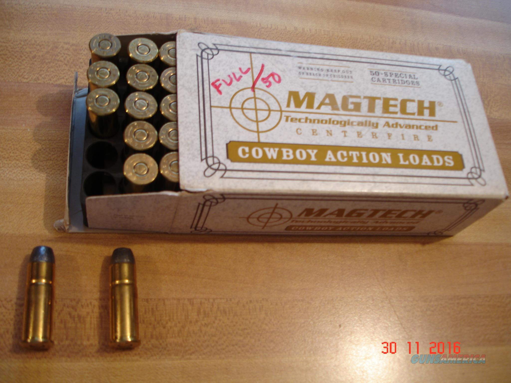 Vintage .44/40 Win.  225 Gr.Lead Ctgs. by Magtech  Non-Guns > Ammunition