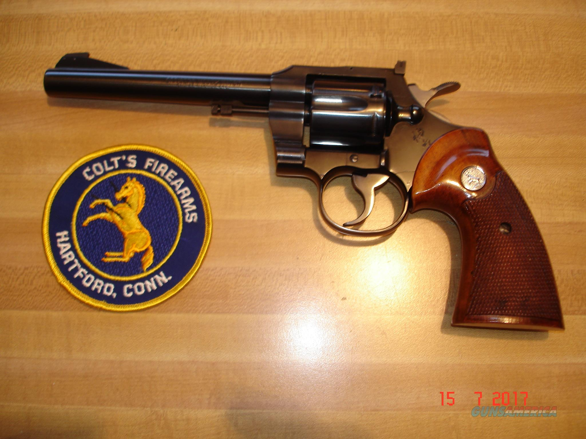 "Rare Colt Officers Model Match .22 Mag. MFG 1959 MINT 1 of 850 6""BBl.May be Unfired?   Guns > Pistols > Colt Double Action Revolvers- Pre-1945"