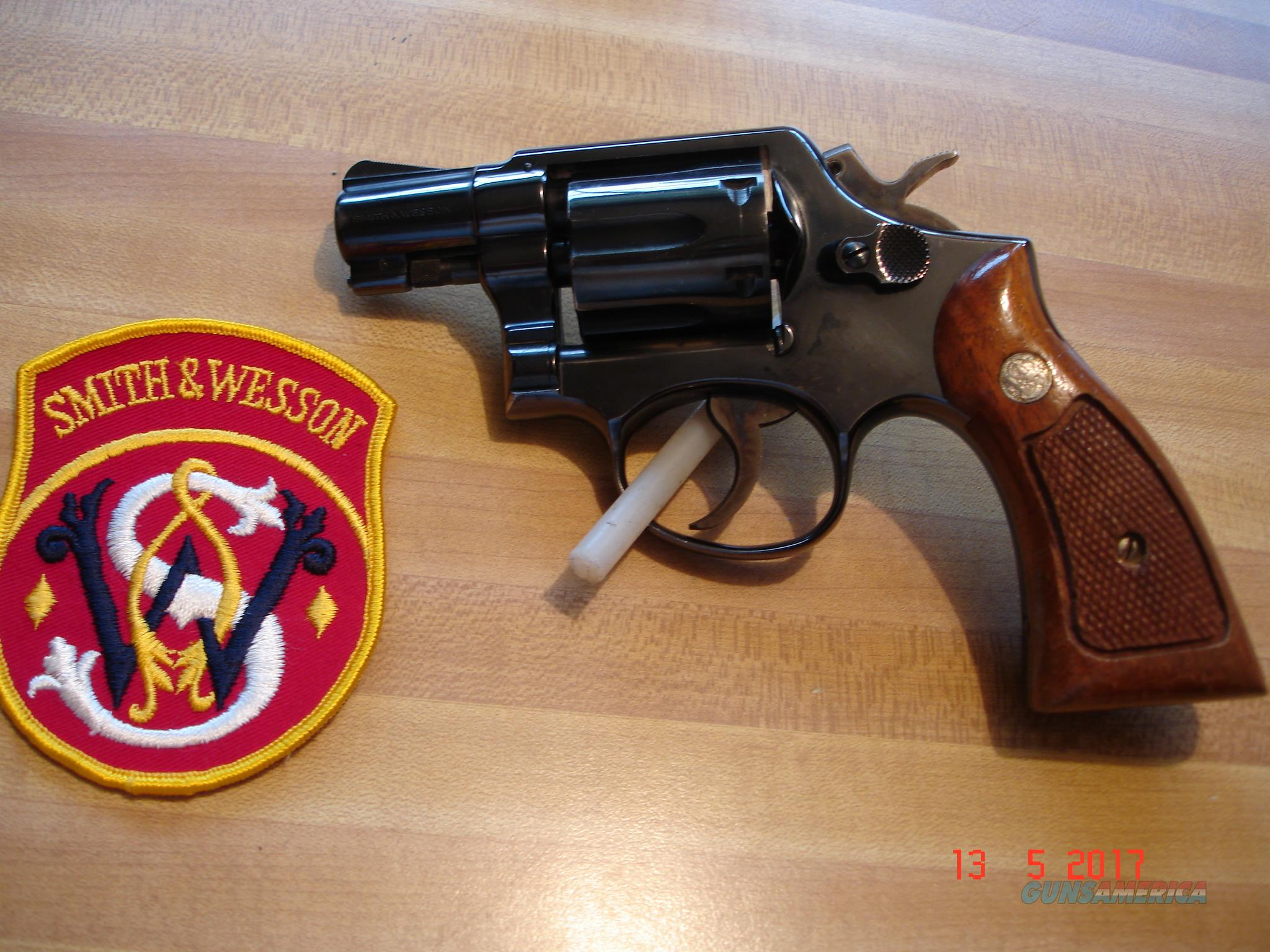 "S&W Model 10-5 MP .38Spec. 2"" BBl. Blue MFG 1975Square Butt K-frame Excellent  Guns > Pistols > Smith & Wesson Revolvers > Model 10"