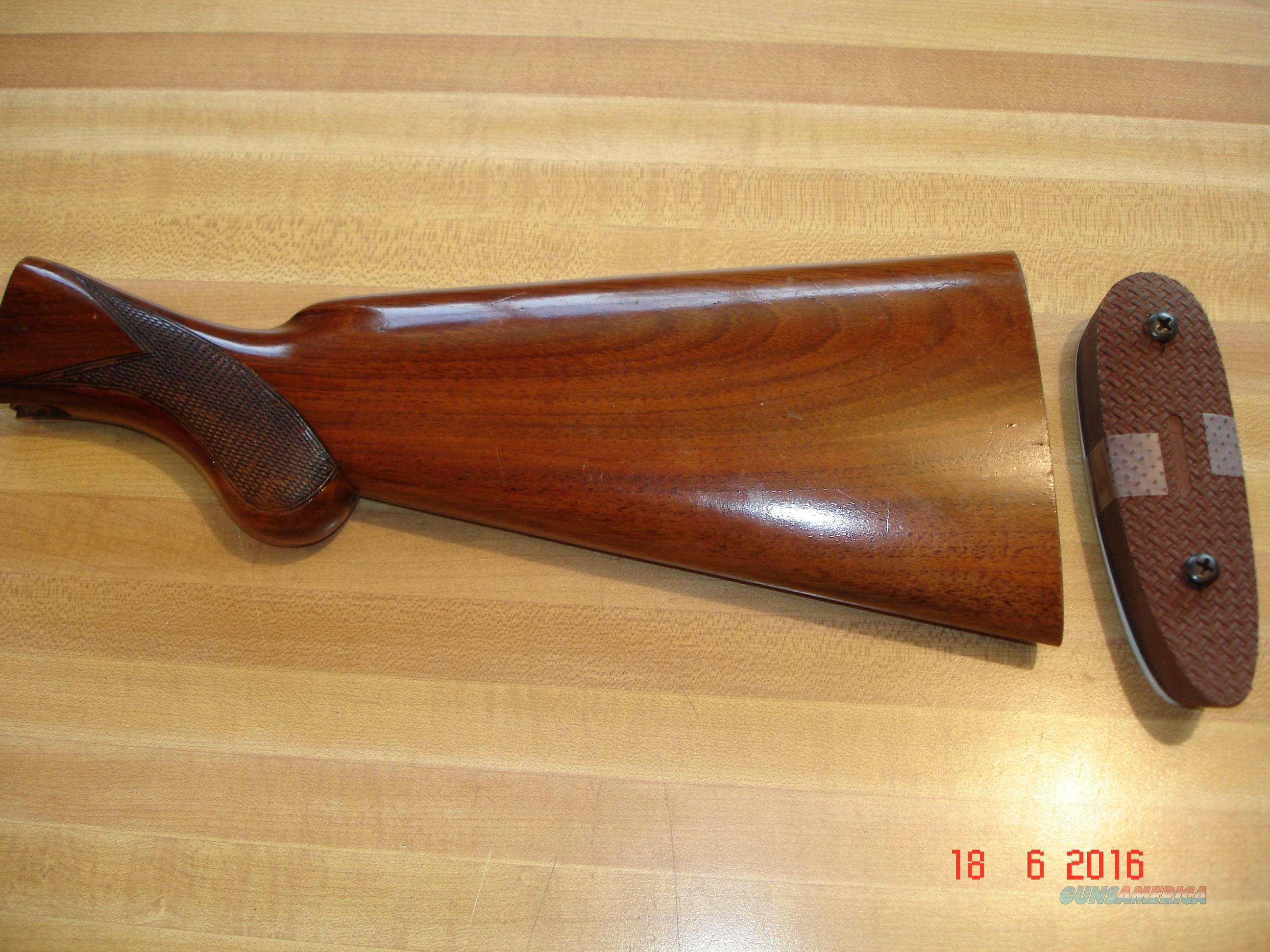 Browning Double auto Butt stock  Non-Guns > Gunstocks, Grips & Wood