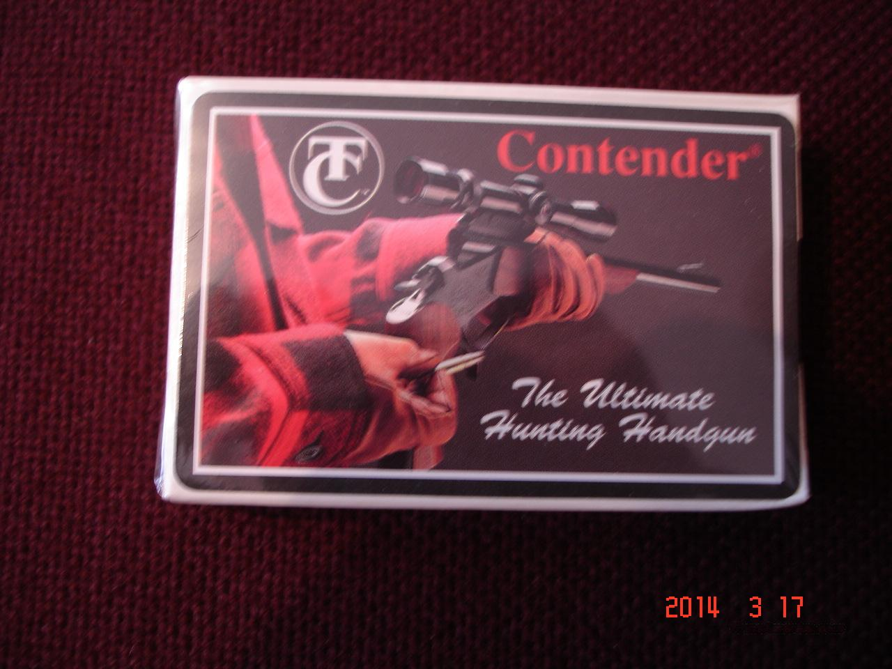 Thompson / Center Playing cards  Non-Guns > Logo & Clothing Merchandise