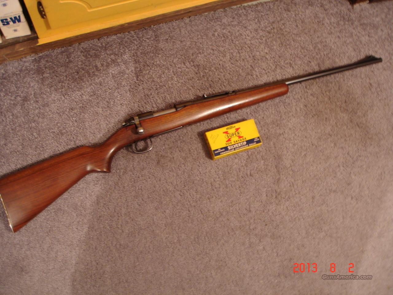 Remington Model 722-A .300Savage MFG 1951  Guns > Rifles > Remington Rifles - Modern > Bolt Action Non-Model 700 > Sporting