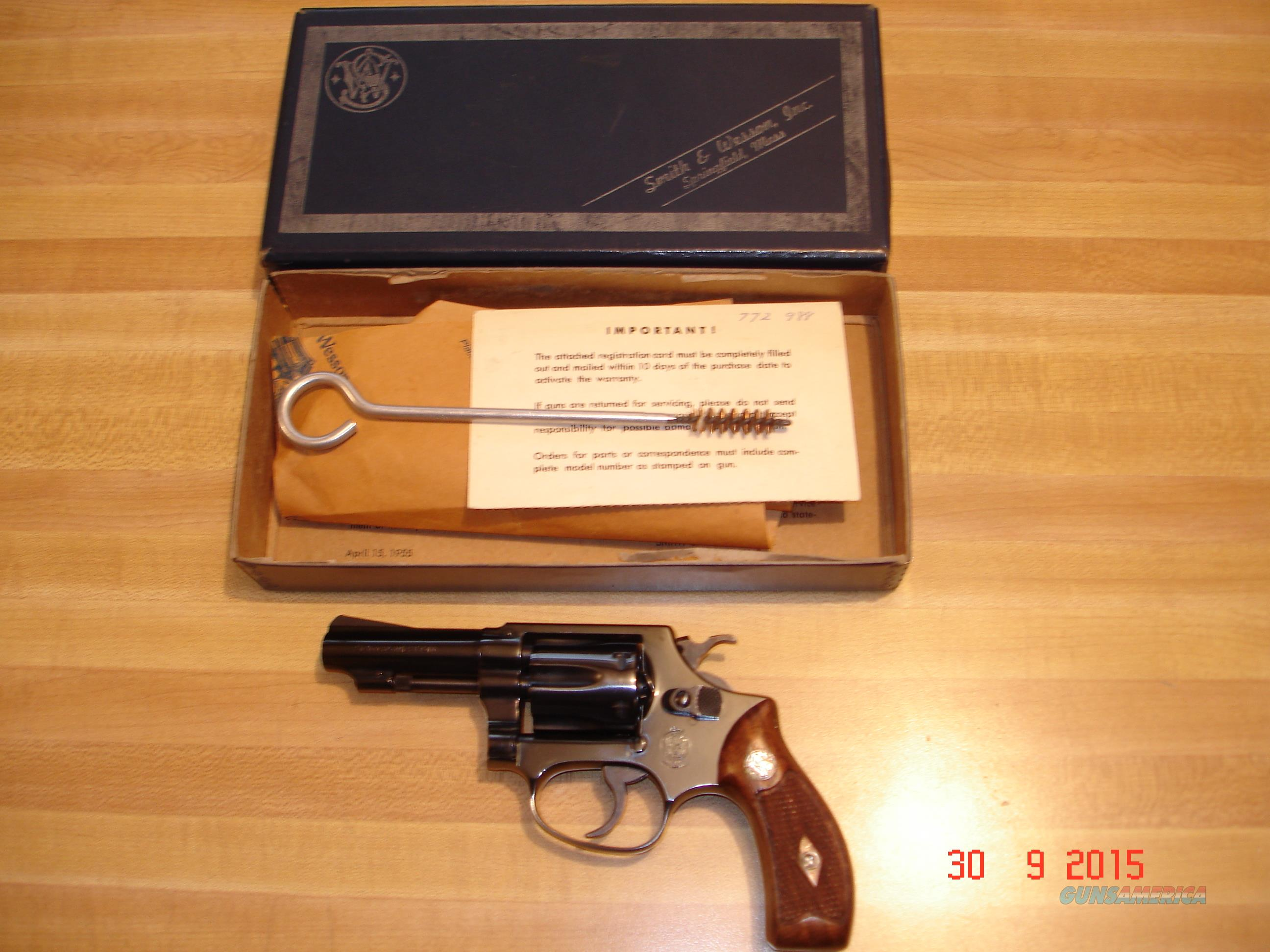"S&W Mod.30-1 .32Hand Ejector 3"" Blue Exc. in Original Box  Guns > Pistols > Smith & Wesson Revolvers > Full Frame Revolver"