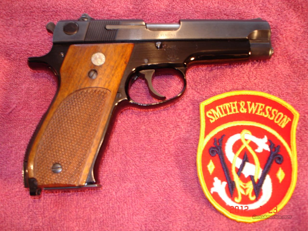 S&W Mod.39-2 Blue MINT 9m/m  Guns > Pistols > Smith & Wesson Pistols - Autos > Alloy Frame