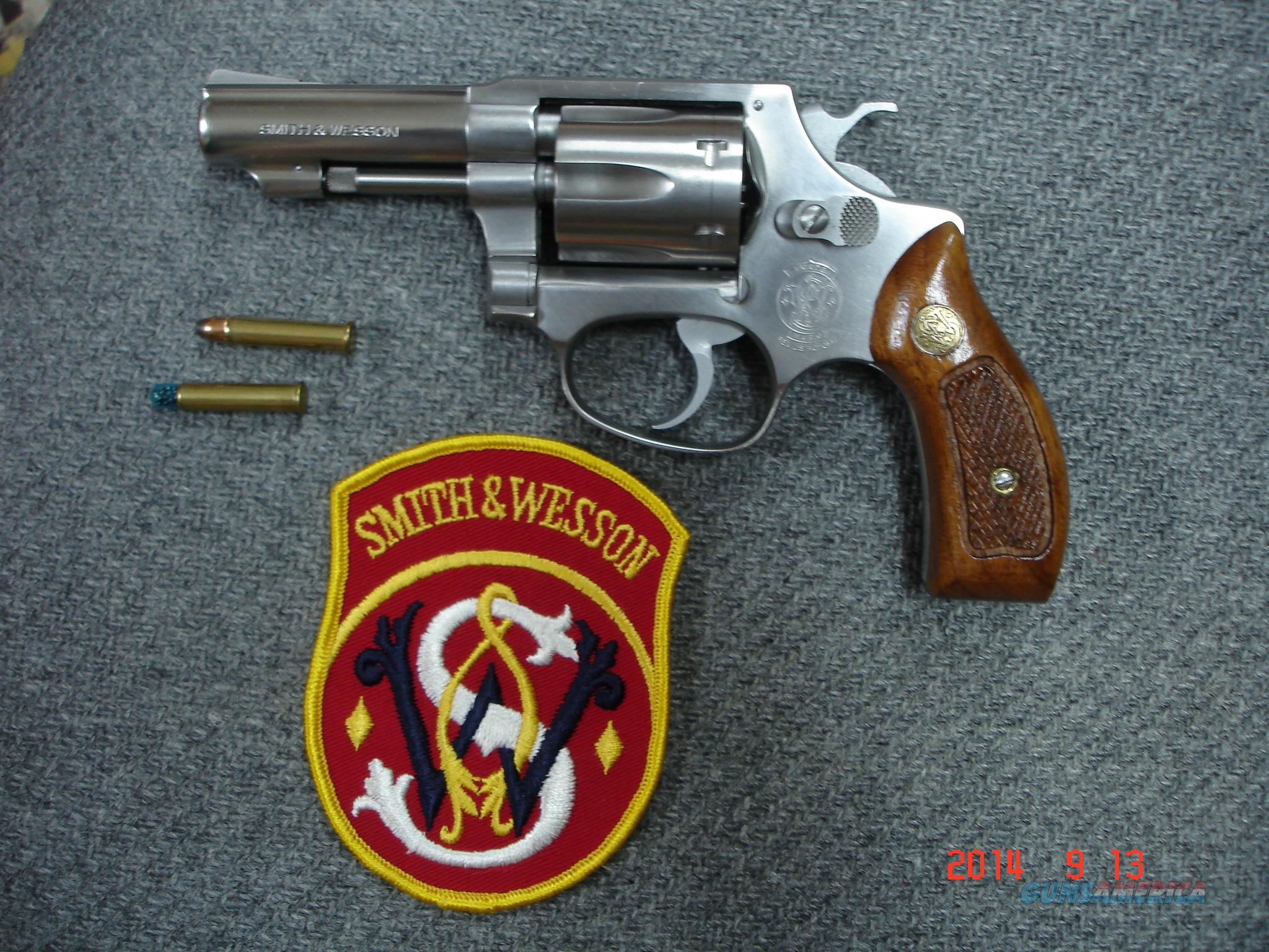 "S&W Mod.650 3"" .22MRF Mint Unfired? Hard to find  Guns > Pistols > Smith & Wesson Revolvers > Full Frame Revolver"