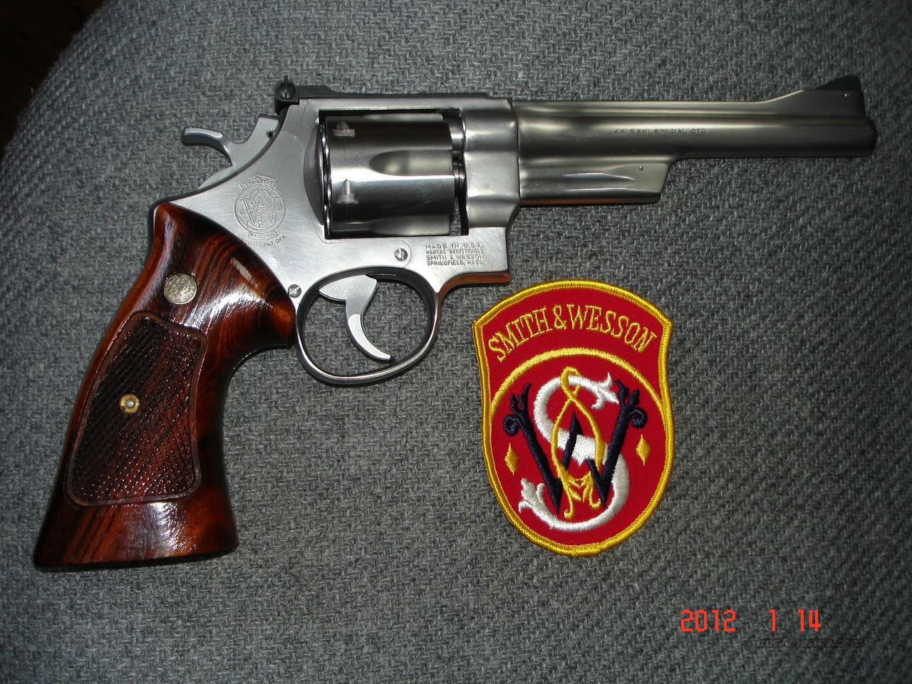 "S&W Mod 624 .44SPEC. 6 1/2"" MIB  Guns > Pistols > Smith & Wesson Revolvers > Full Frame Revolver"