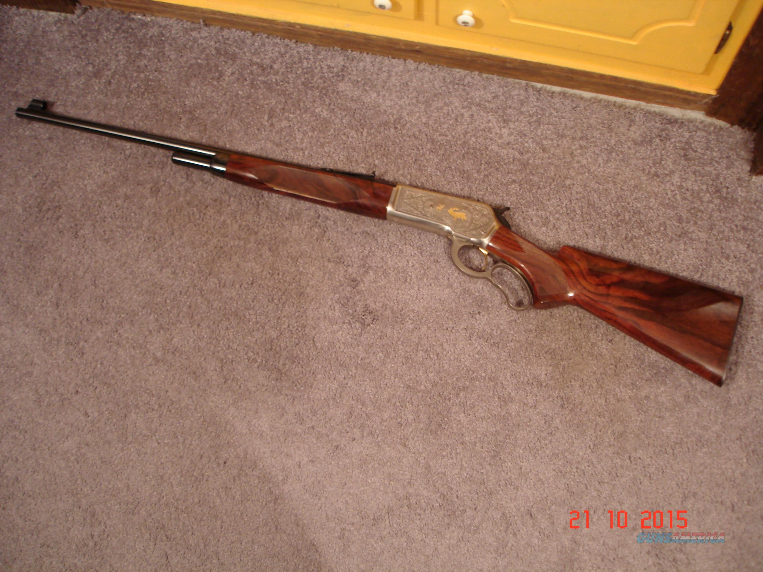 Browning Mod.71 High Grade .348Win. Lever Act. New 1987  Guns > Rifles > Browning Rifles > Lever Action