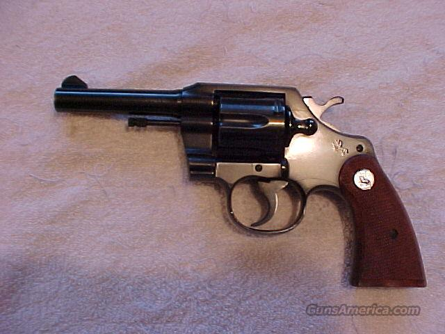"Colt Official Police 4"" Near Mint .38Spec.  Guns > Pistols > Colt Double Action Revolvers- Modern"