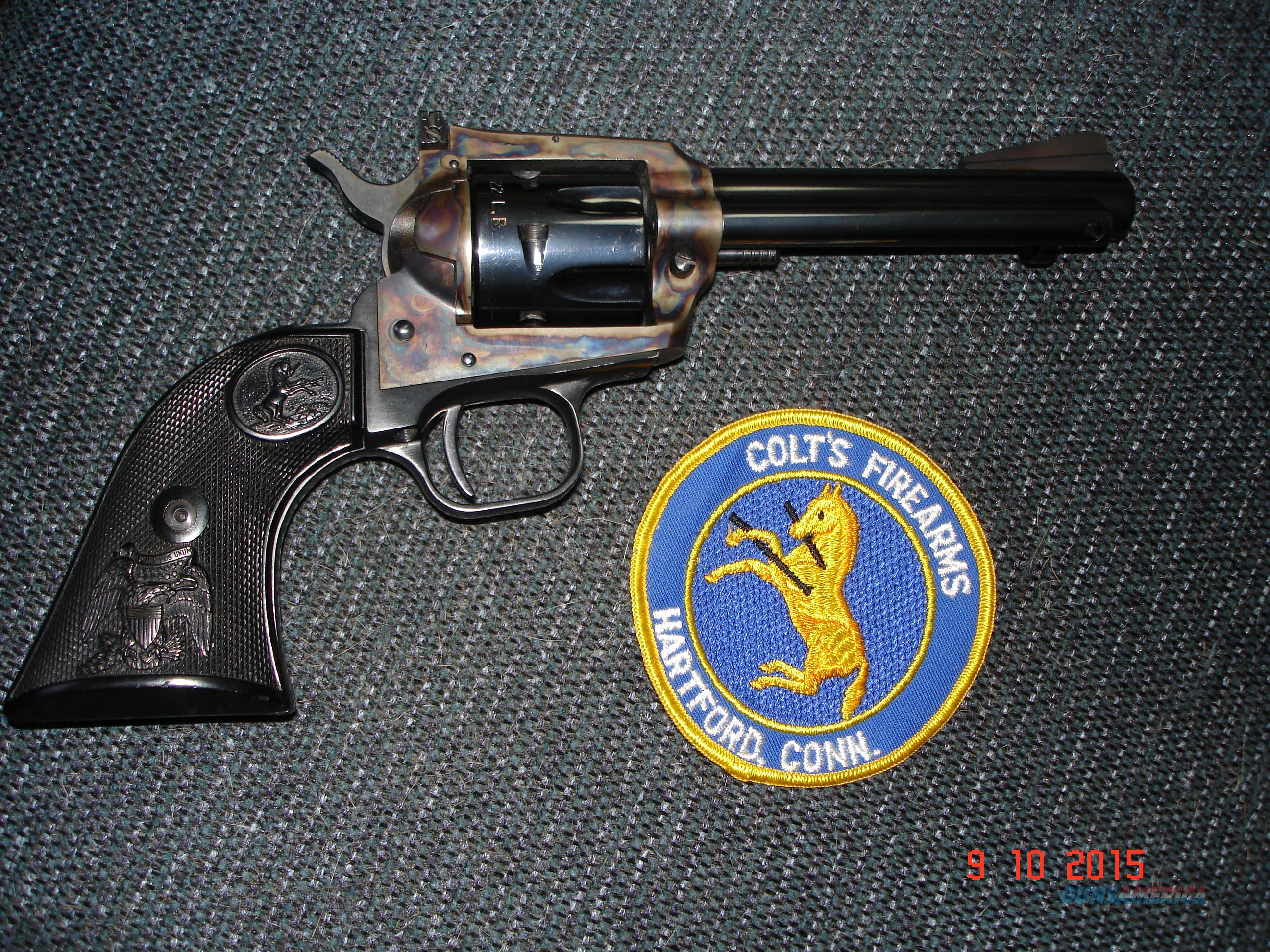 "Rare Colt New Frontier 4 3/4""BBl. B&C 1st year prod. 1971  Guns > Pistols > Colt Single Action Revolvers - Modern (22 Cal.)"