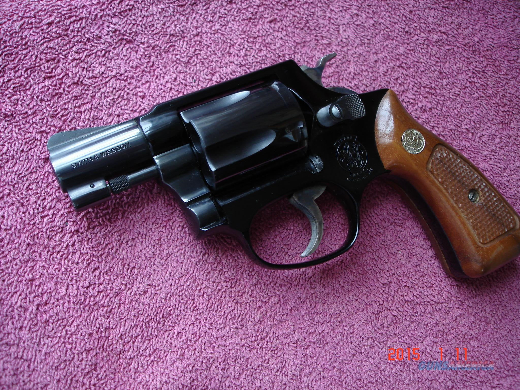 "S&W Model 37 2""BBl. Blue Air Weight D/A Rev. MINT  Guns > Pistols > Smith & Wesson Revolvers > Full Frame Revolver"