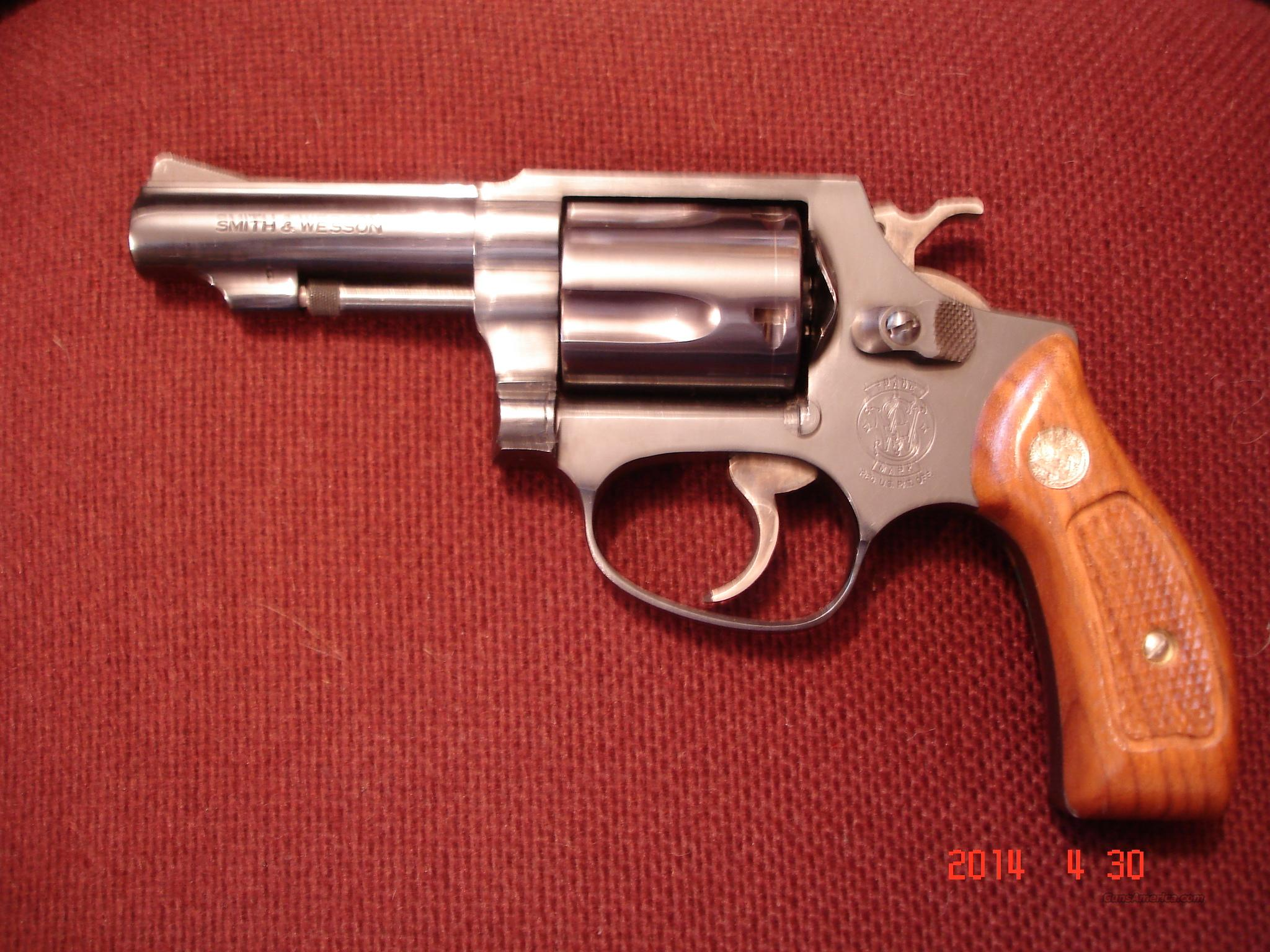 "S&W Mod.36-1 3""BBl. Blue MIB .38Spec.  Guns > Pistols > Smith & Wesson Revolvers > Full Frame Revolver"